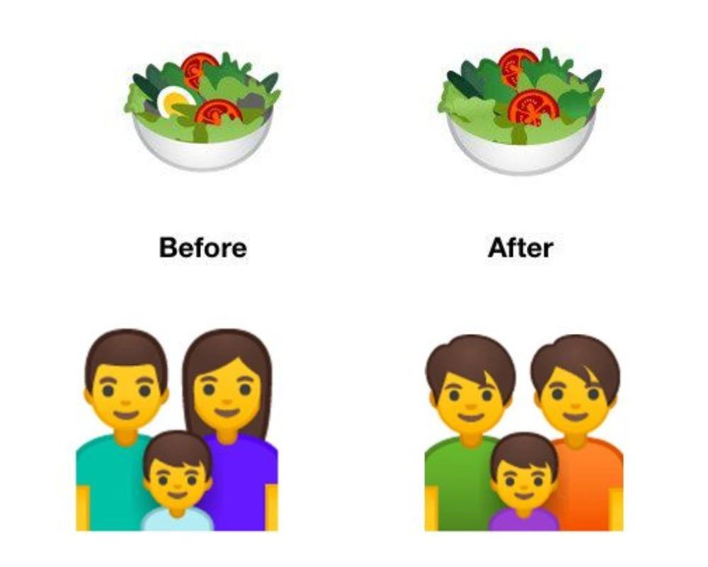 Új, befogadóbb emojikat vezetett be a Google