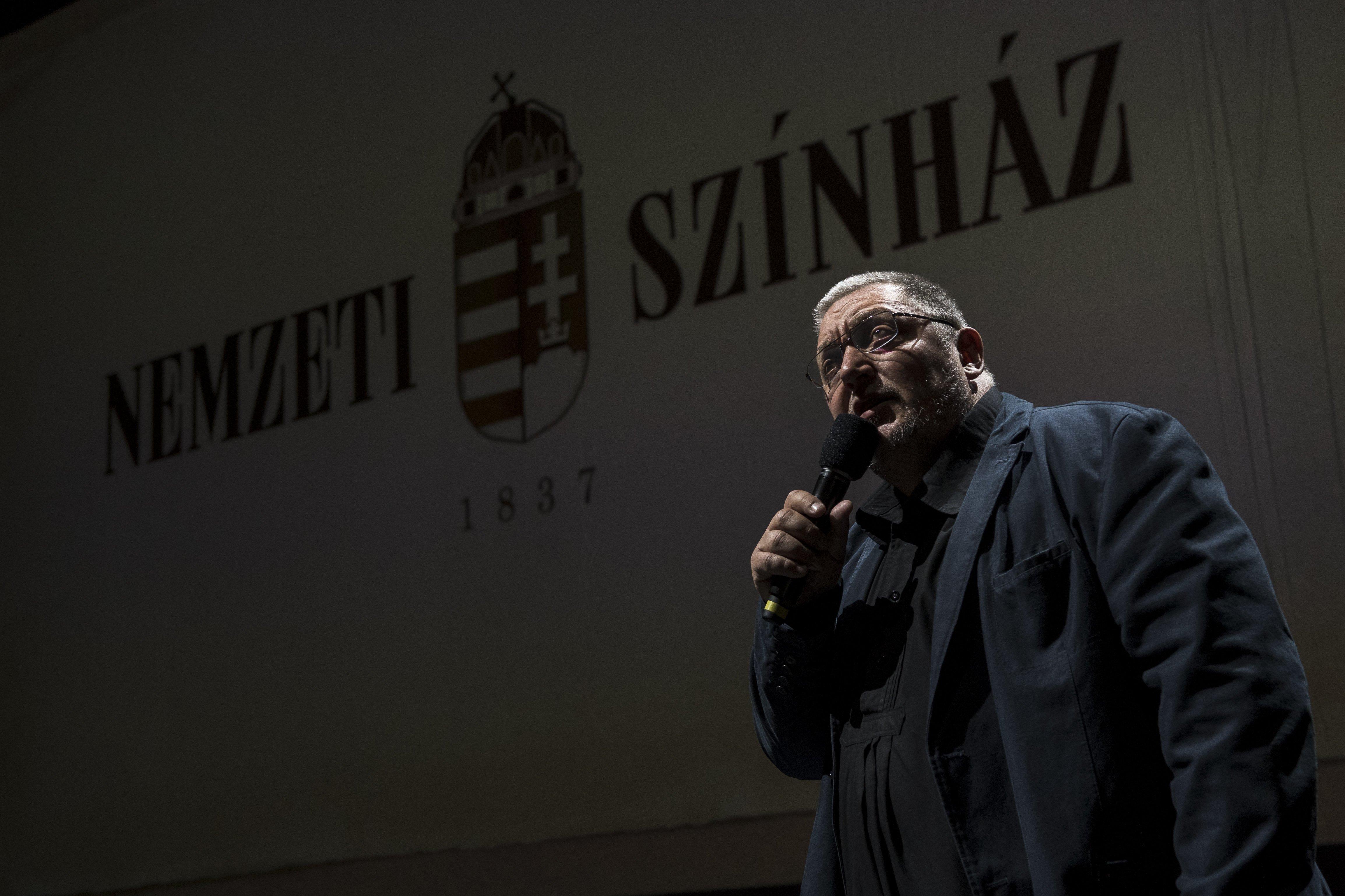 Vidnyánszky Attila visszautasítja a jelölést a kritikusok díjára, mert nem jelölik elégszer a kritikusok díjára