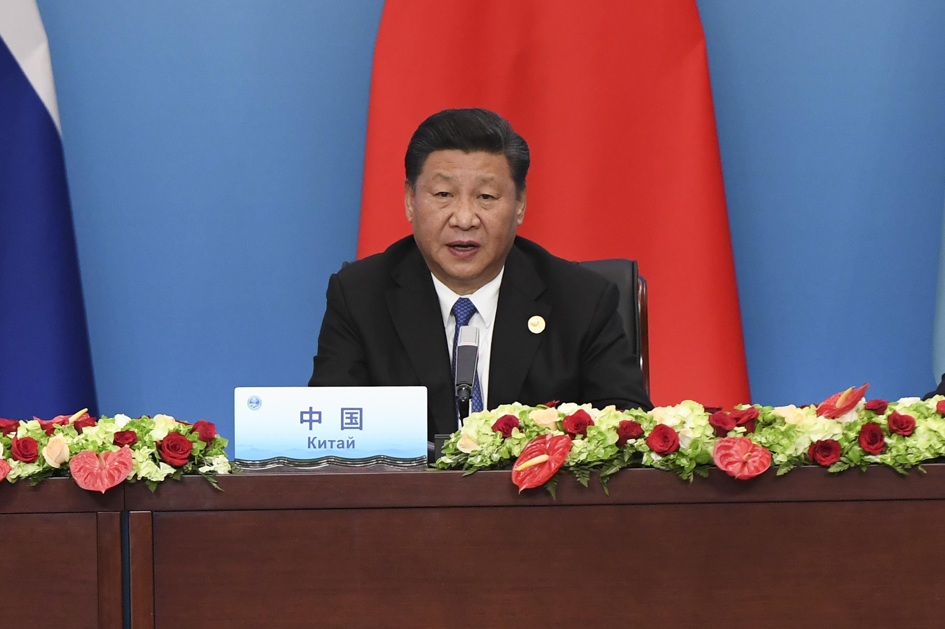 """A kínai elnök az """"önző, rövidlátó, bezárkózó"""" kereskedelempolitika feladását követelte"""