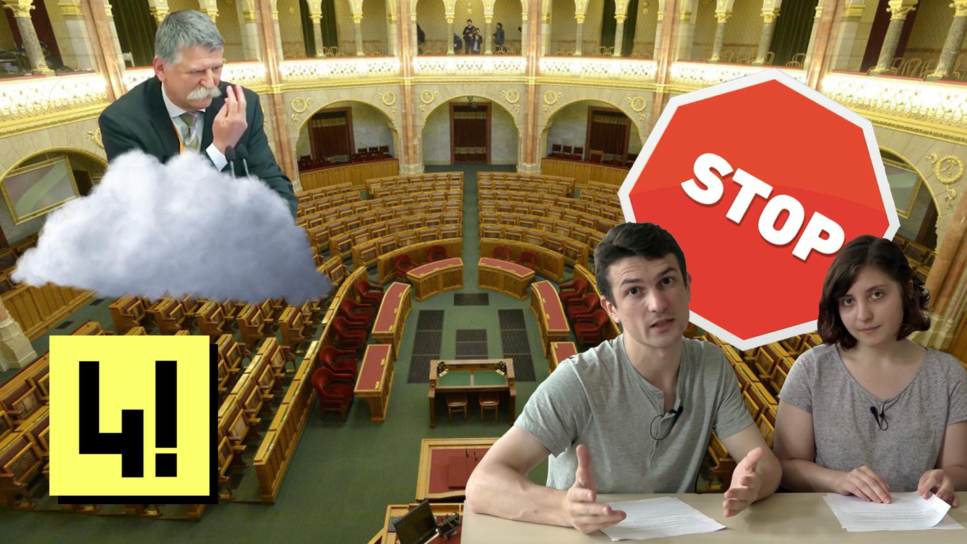 Látványosan unatkozó képviselők feje felett döntenek civilek bebörtönzéséről a Parlamentben