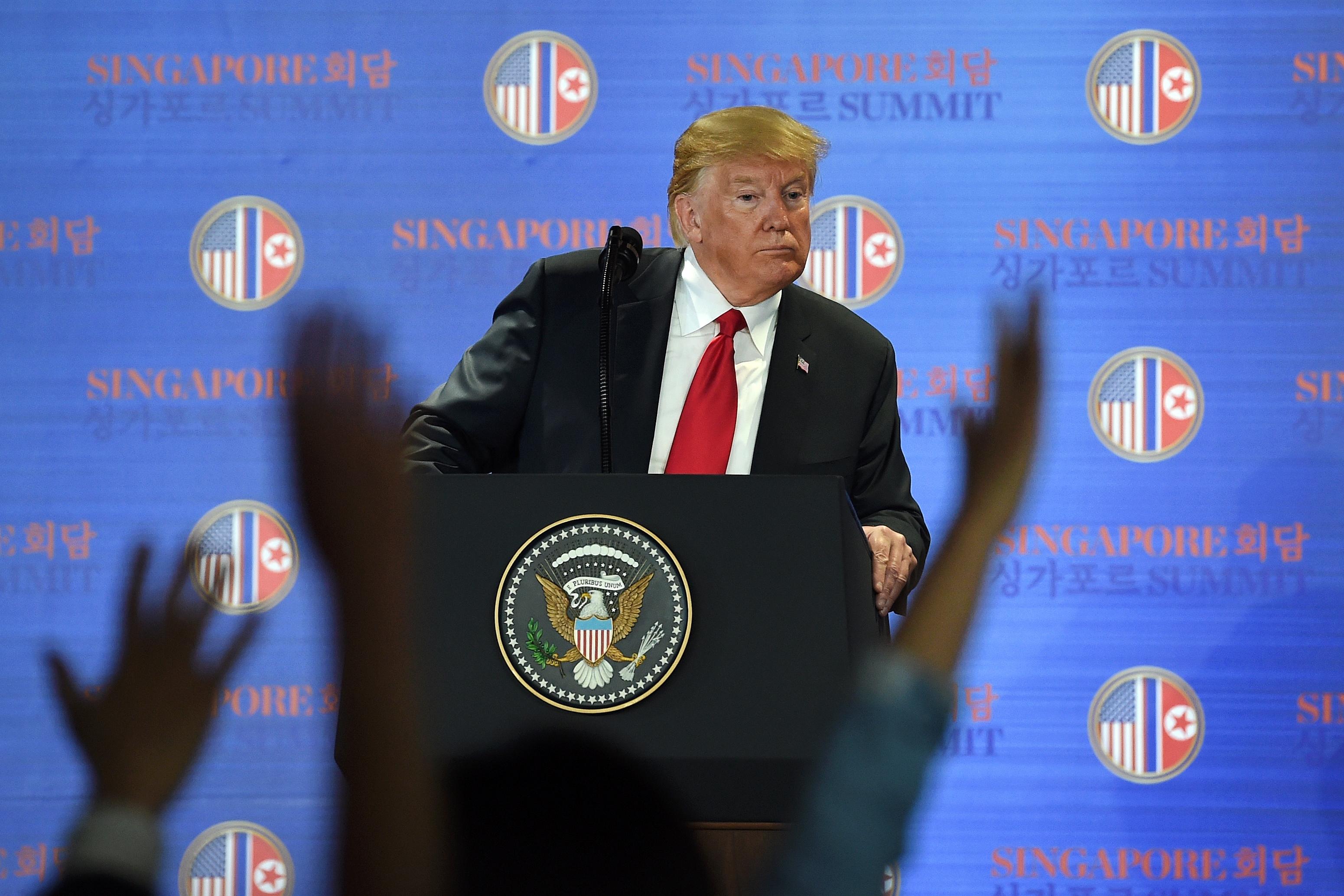 Kim Dzsongunnak csak sikerült bepaliznia Donald Trumpot