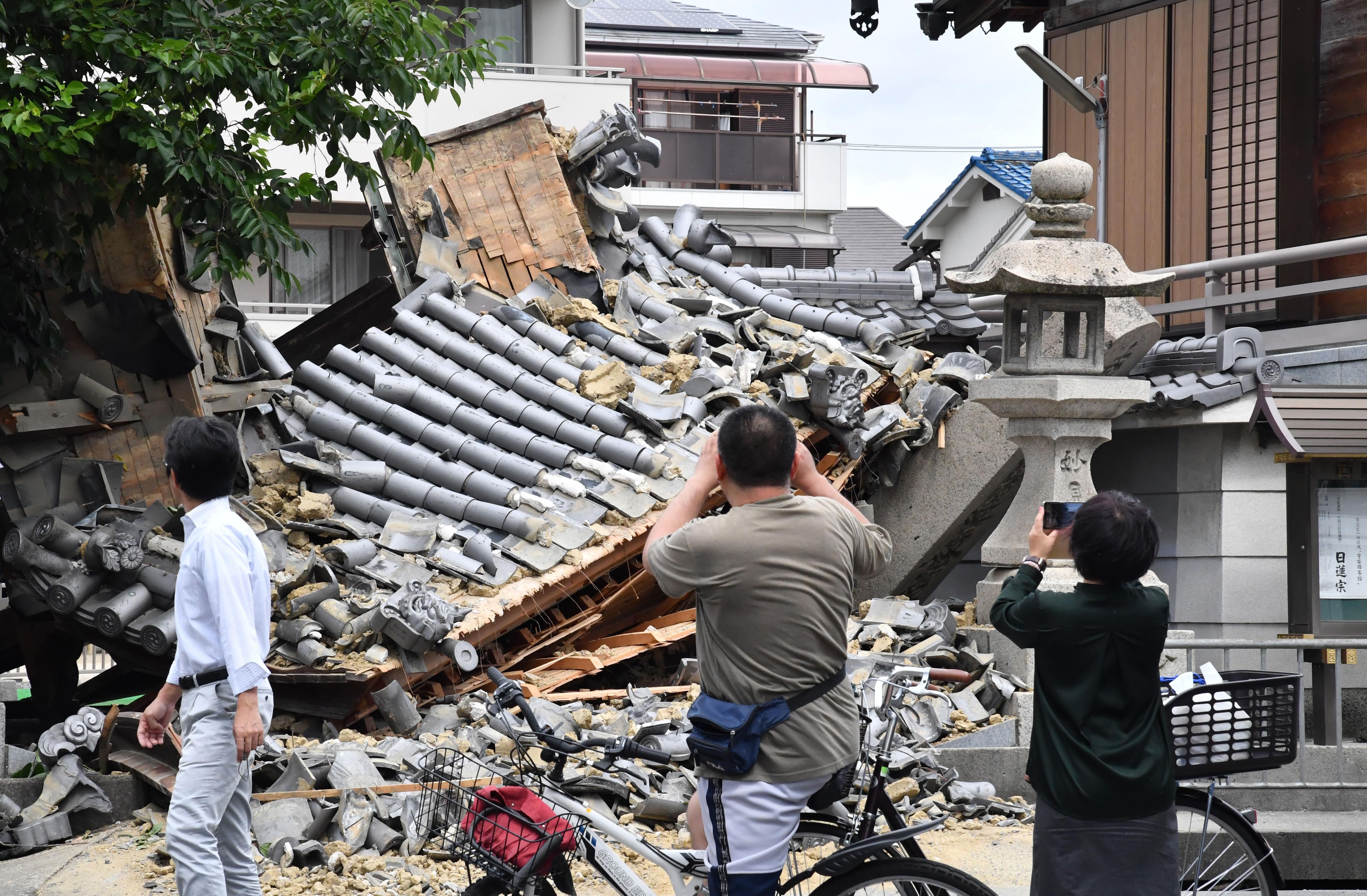 Több halálos áldozata is van a japán földrengésnek