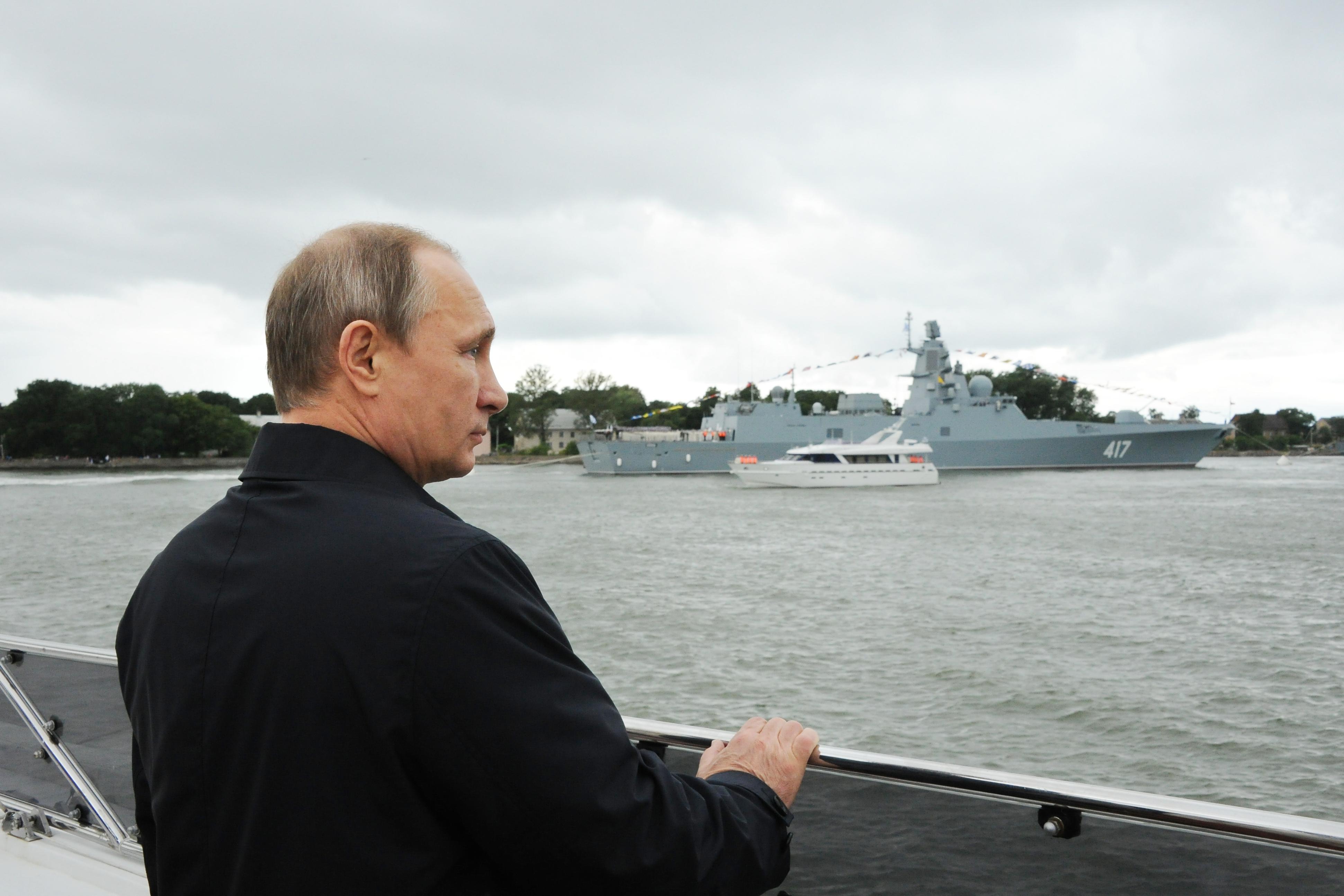 Putyin: Abszolút nyilvánvaló tény, hogy az ukránok provokáltak a Fekete-tengeren, hogy növeljék Porosenko támogatottságát