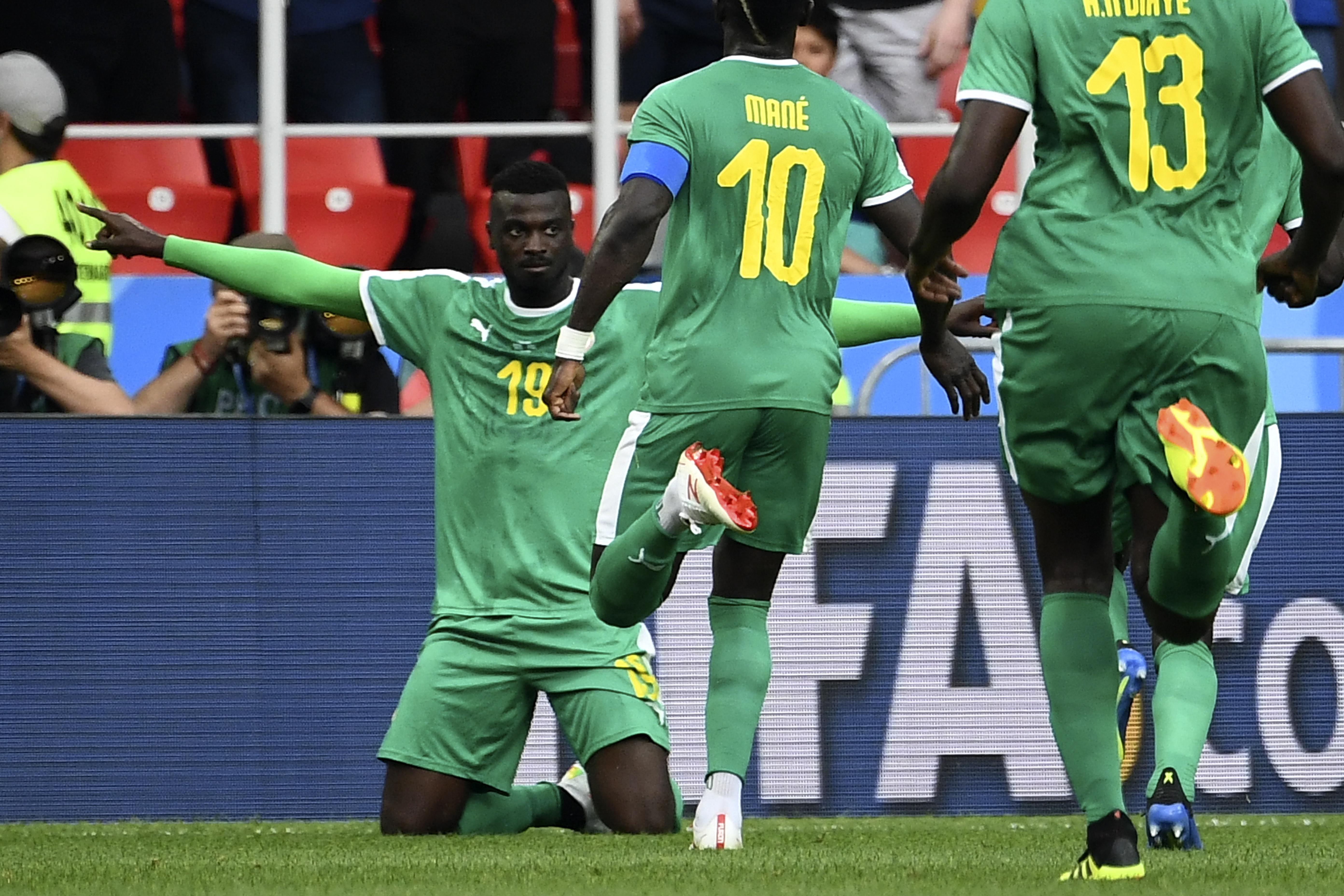 Ajándékoztak még egy gólt a lengyelek a szenegáliaknak