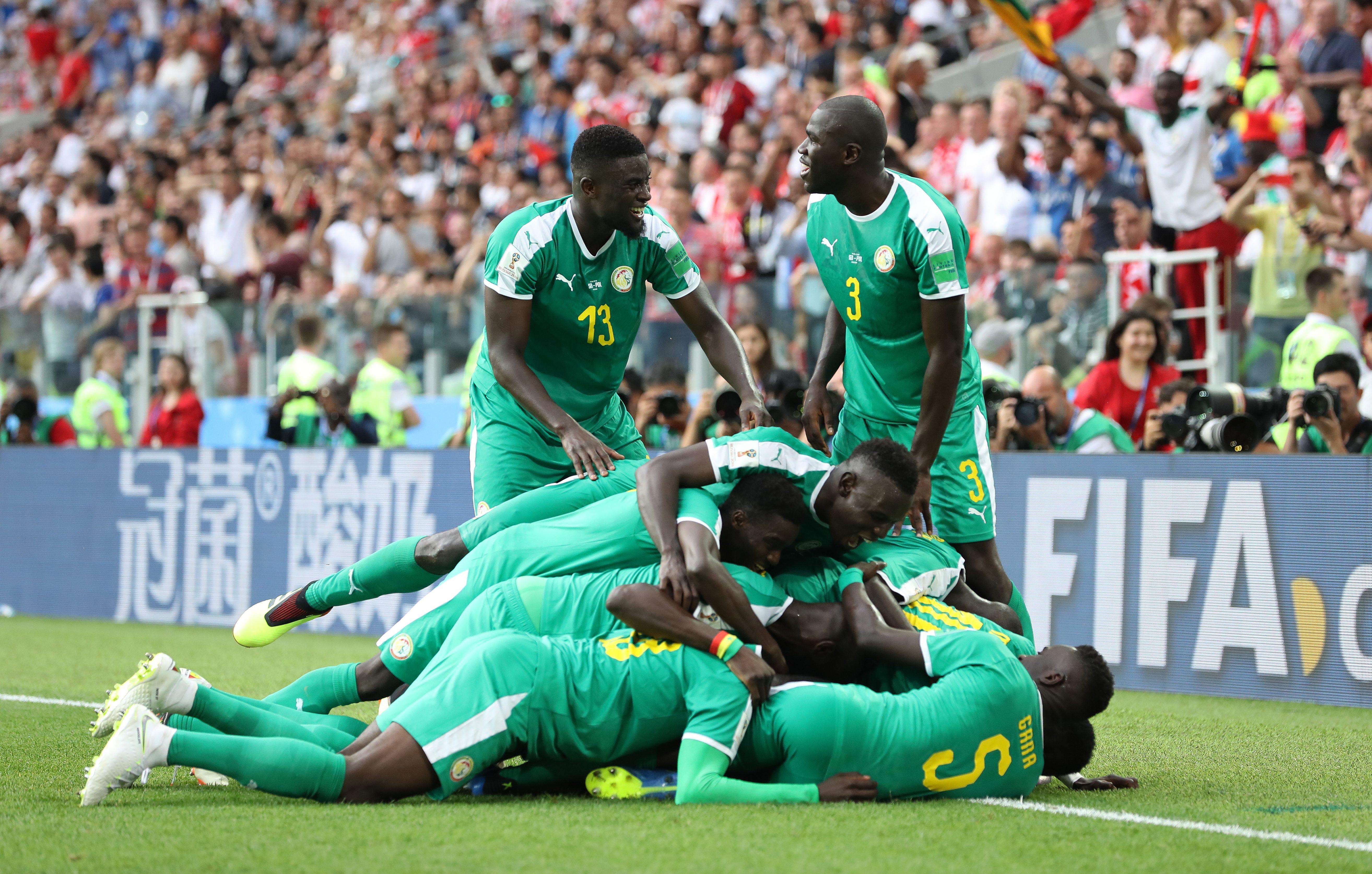 Szenegál szétfutotta a lengyeleket