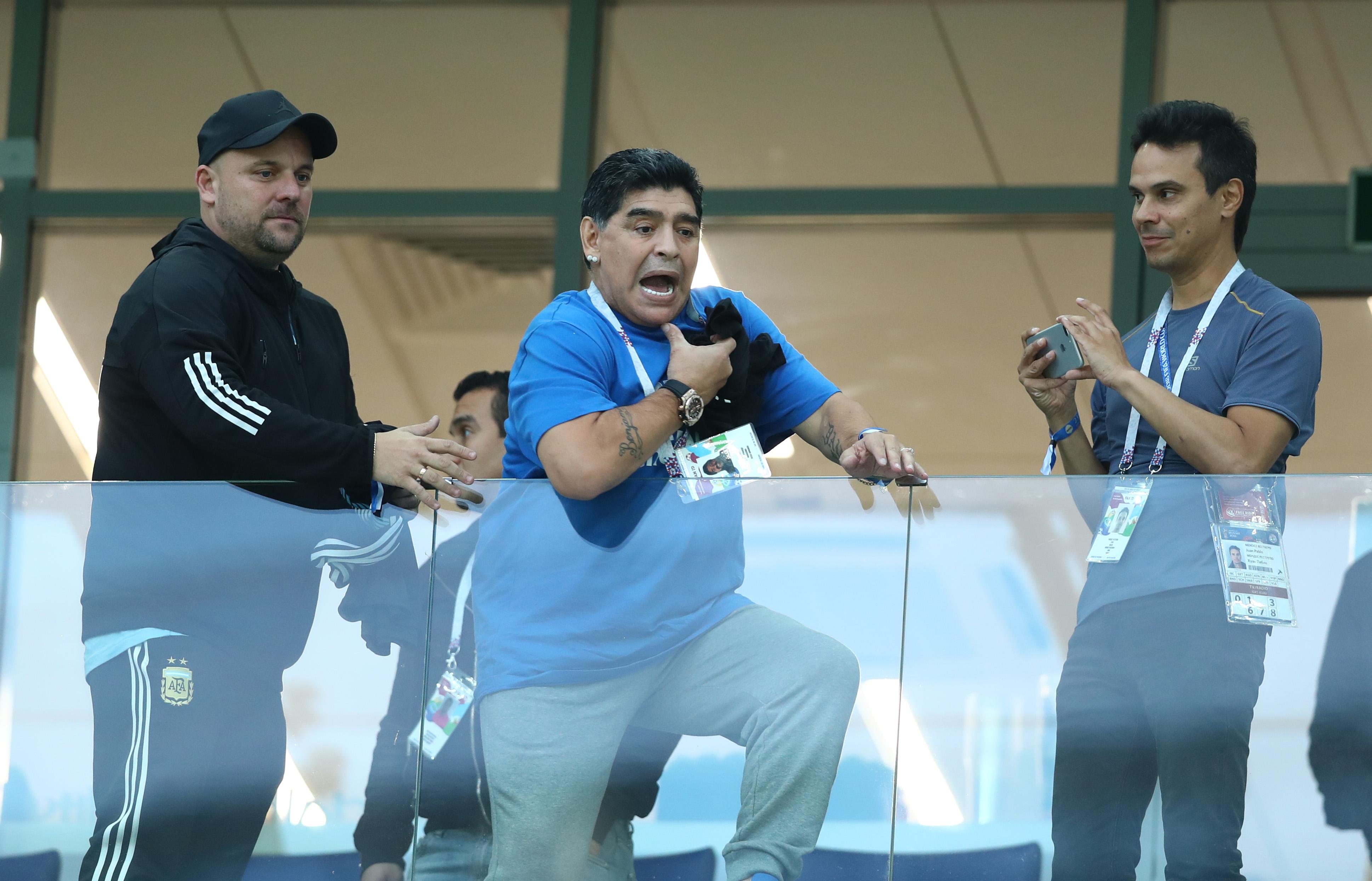 A vb legnagyobb argentin játékosa: az isteni Diego Maradona