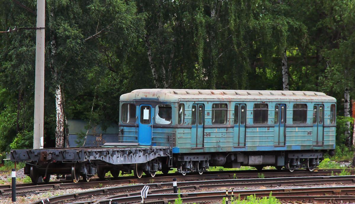 Moszkvában szomorkodik a budapesti metrókocsi, amit elvileg márciusban hoztak vissza felújítva