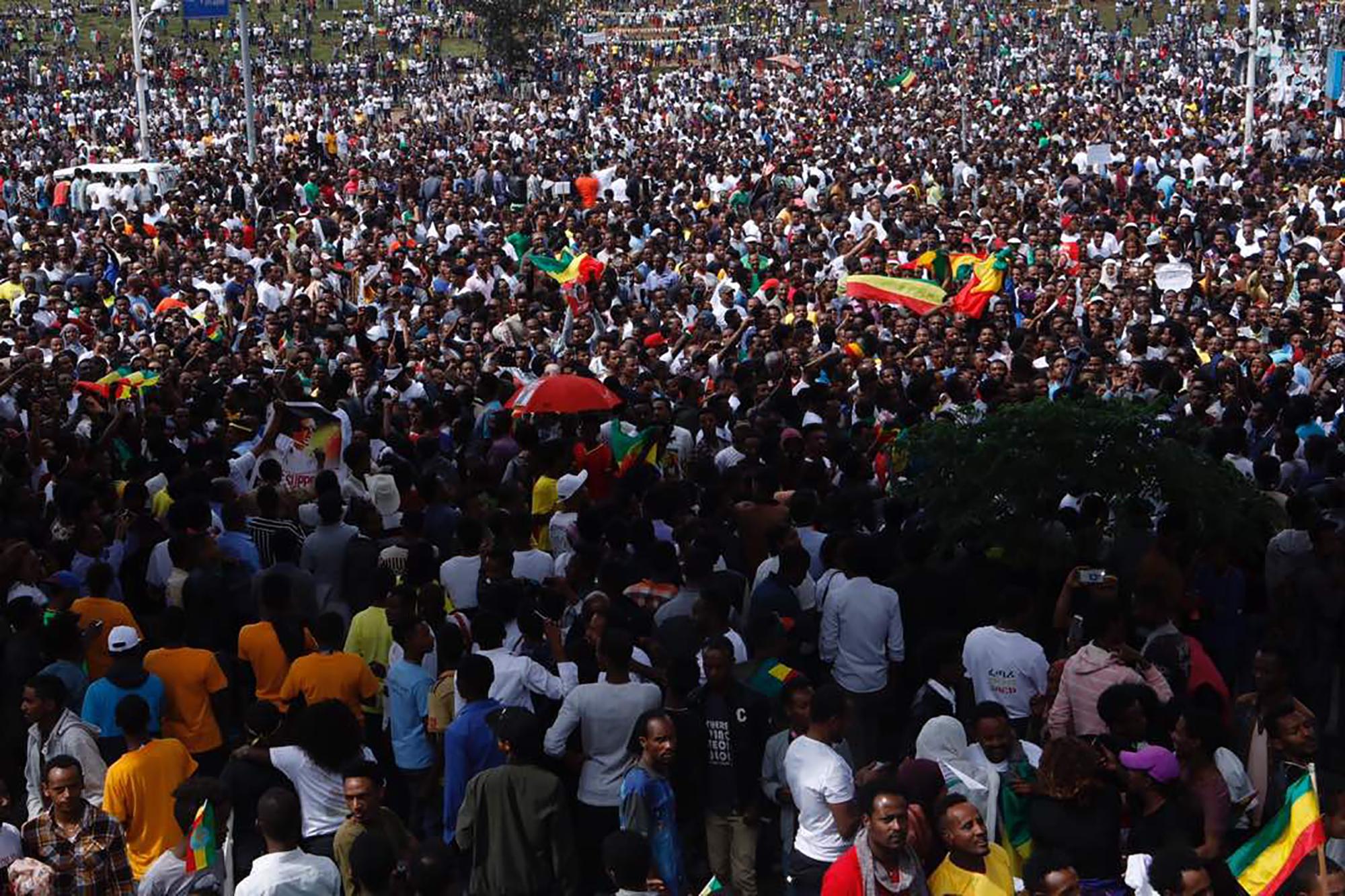 Robbanás történt az új etióp miniszterelnök nagygyűlésén, többen meghaltak