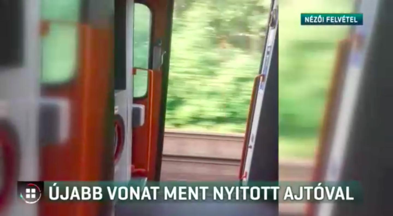 Nyitott ajtóval ment a vonat öt kilométeren keresztül Borsodban