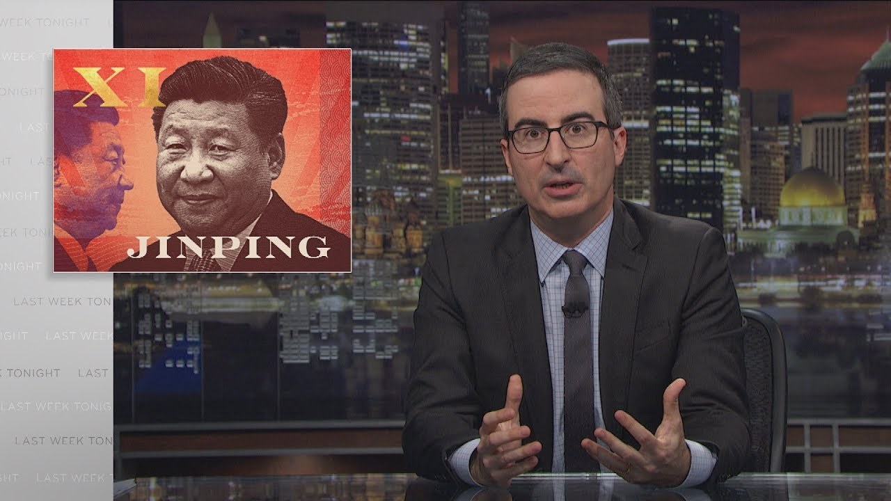 John Oliver miatt tiltotta le a HBO-t a kínai cenzúra