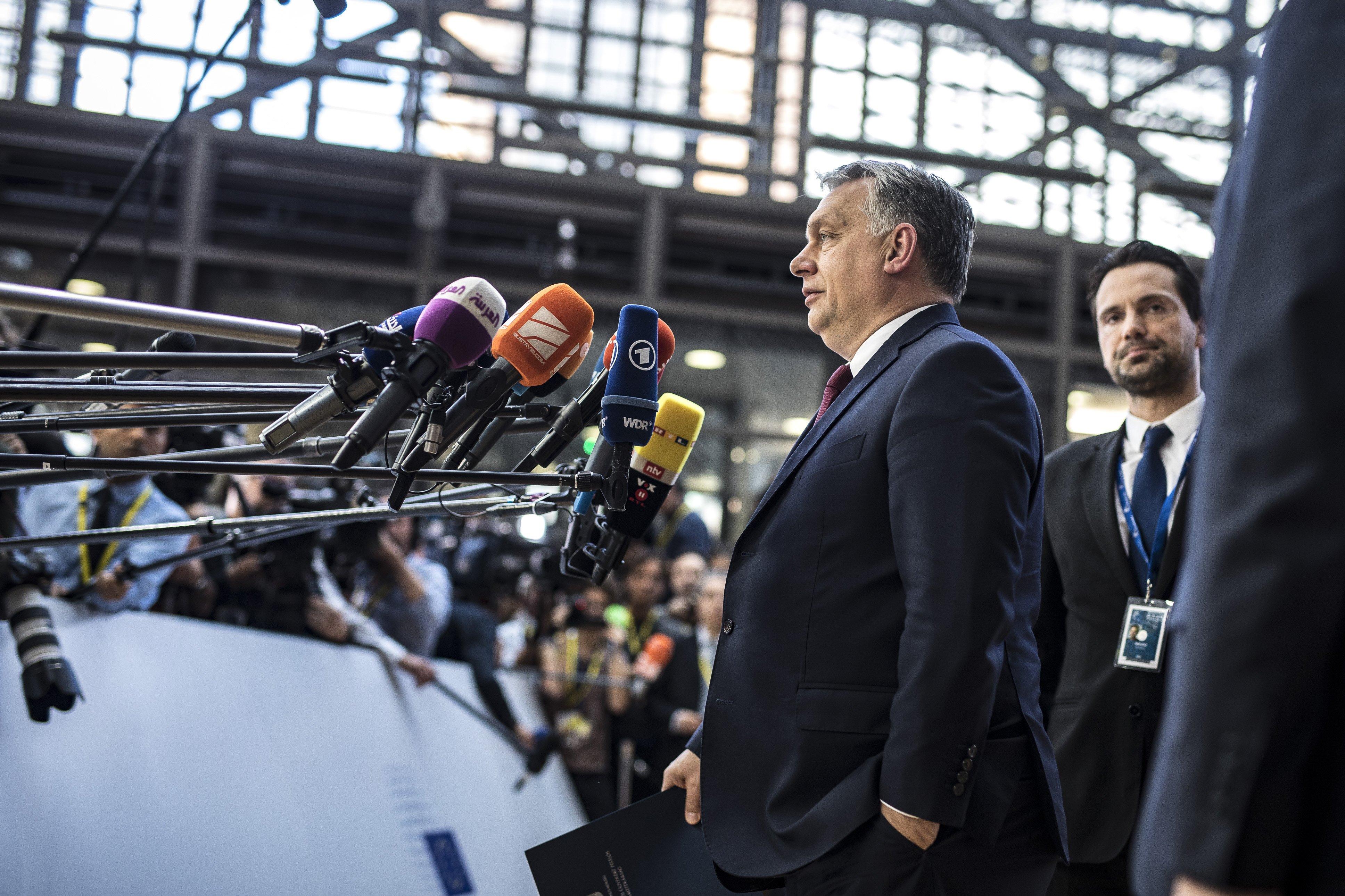 Orbán Viktor: Azt szeretnénk, hogy helyreállítsuk a demokráciát Európában
