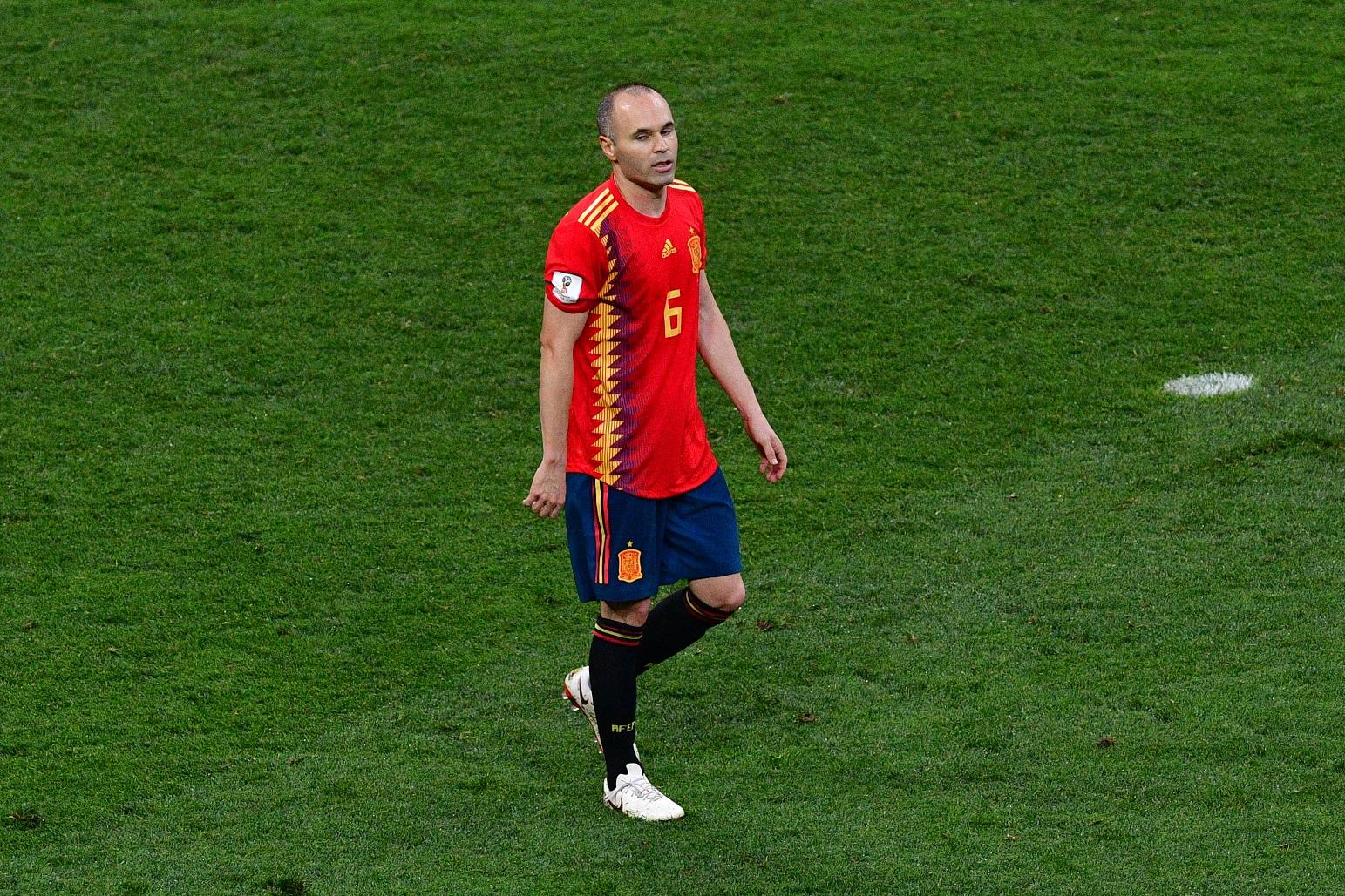 Iniesta visszavonul a válogatottságtól