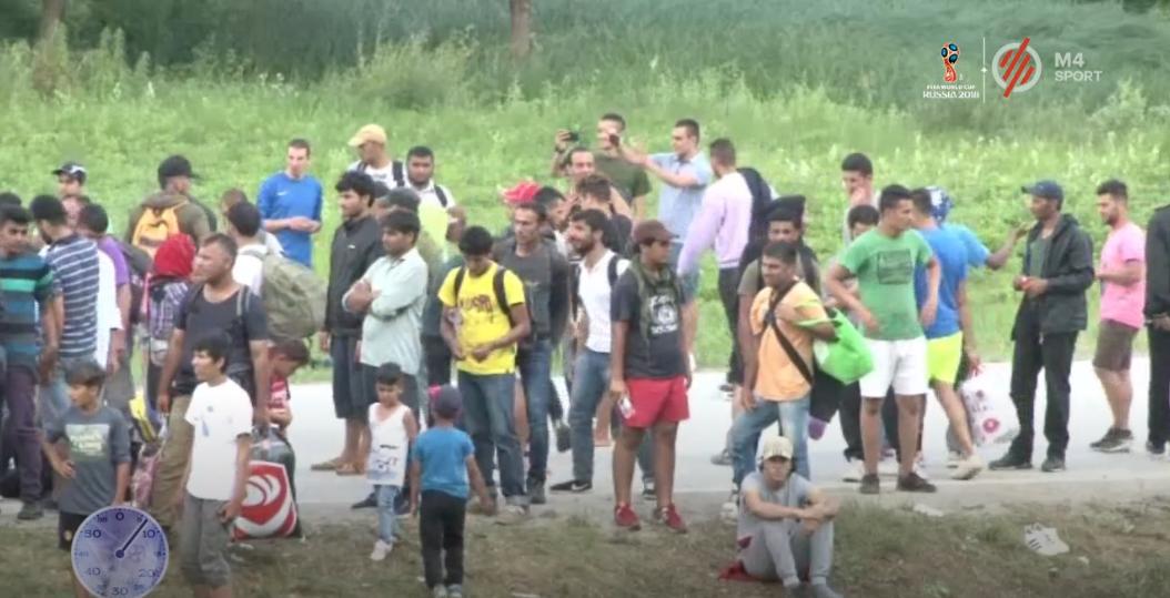 Rendőrök lőttek meg egy bevándorlót a szlovén-horvát határ közelében