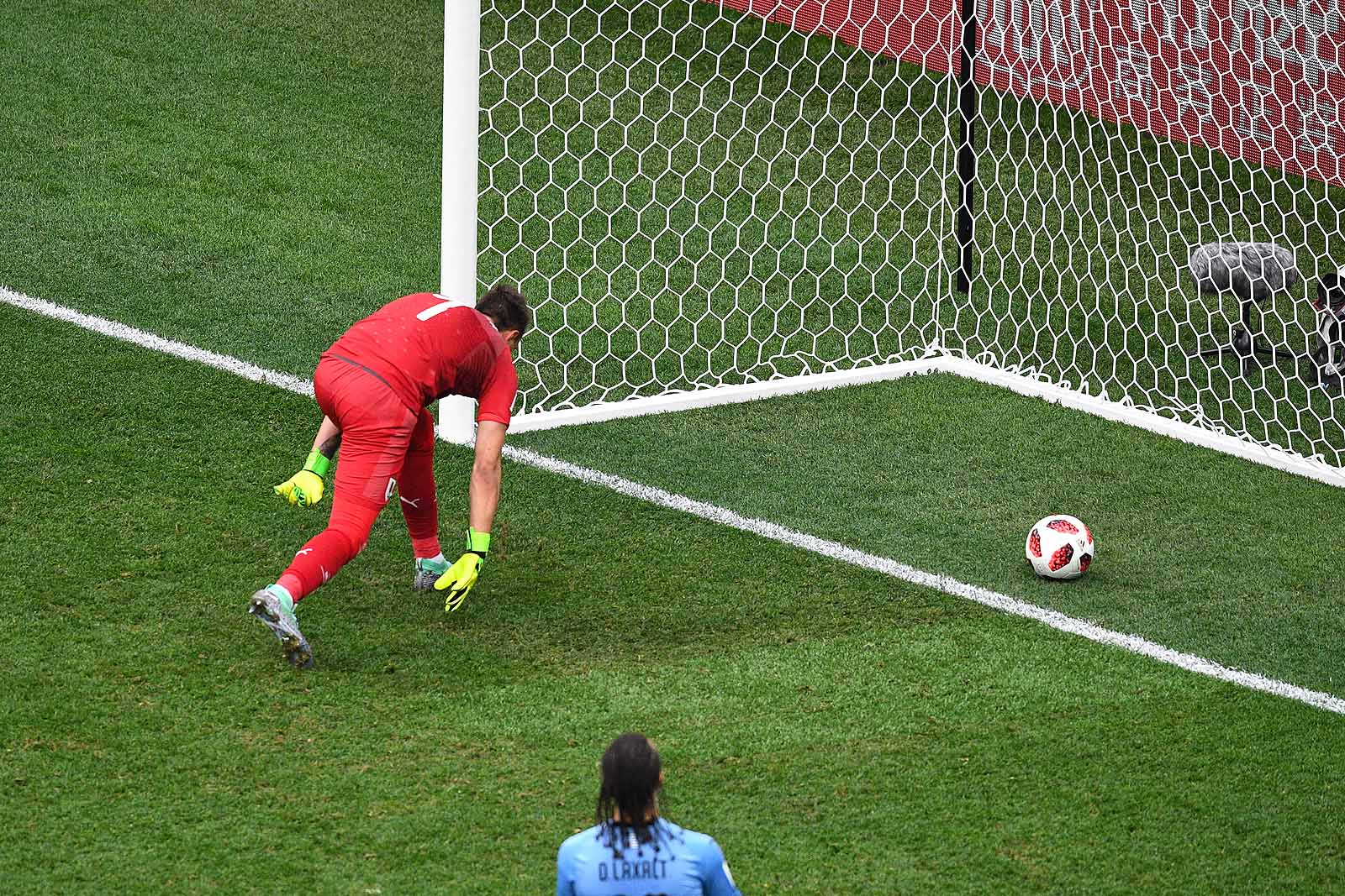 Ezzel a hatalmas potyával vezetnek 2:0-ra a franciák Uruguay ellen