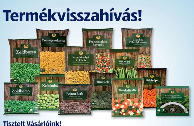 Ezeket a fagyasztott zöldségeket hívták vissza Magyarországon a kilenc halálos áldozattal járó ételmérgezési járvány miatt