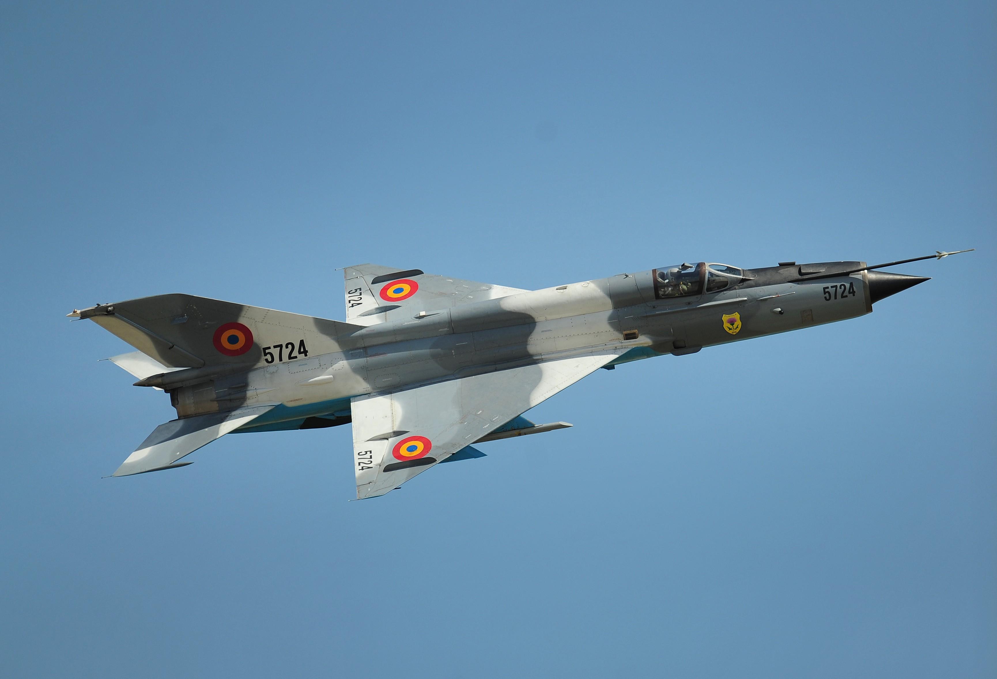 Lezuhant egy vadászgép Romániában