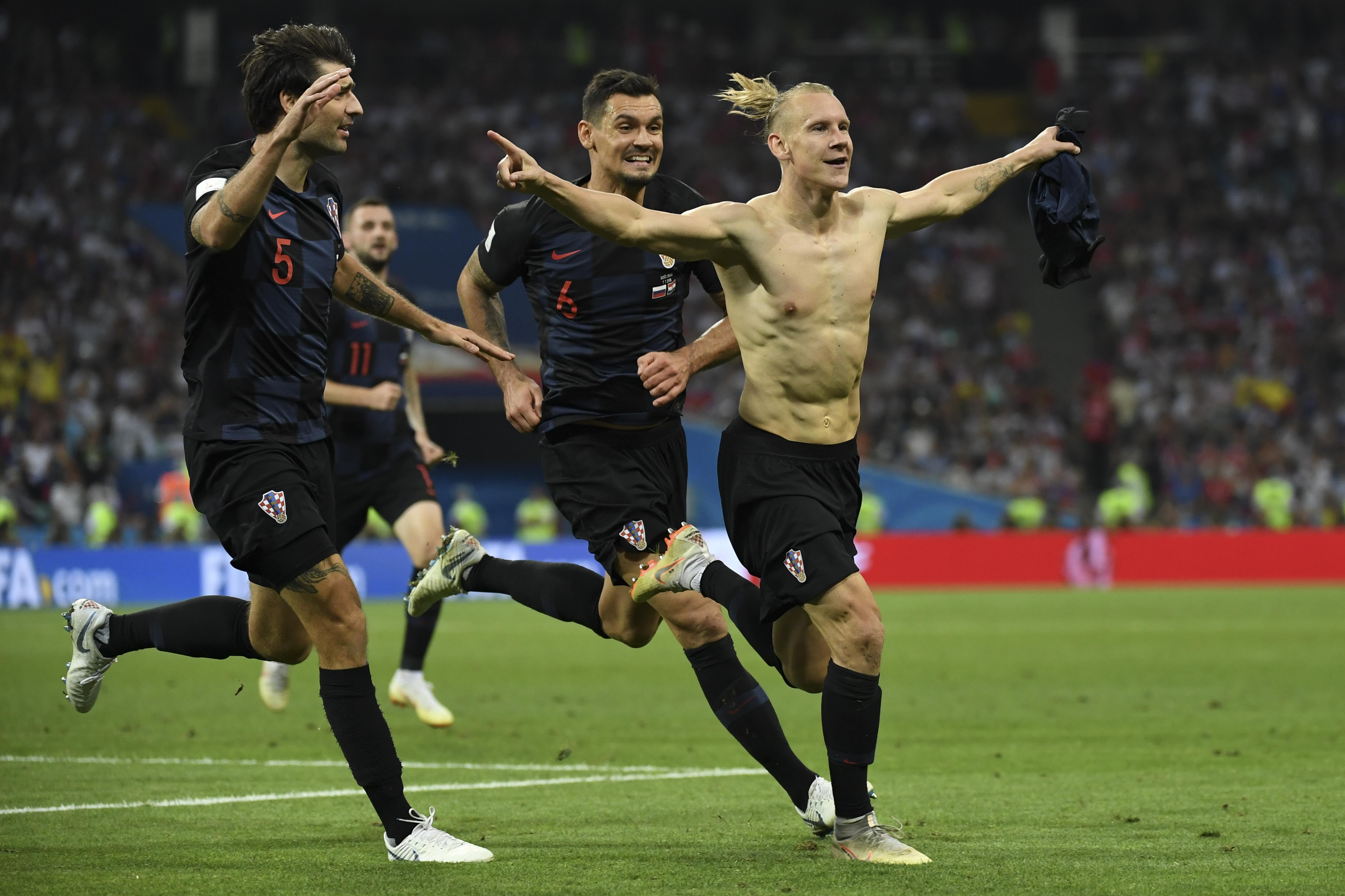 Vizsgálja a FIFA, hogy a horvát focisták éljenezhették-e Ukrajnát az oroszok legyőzése után