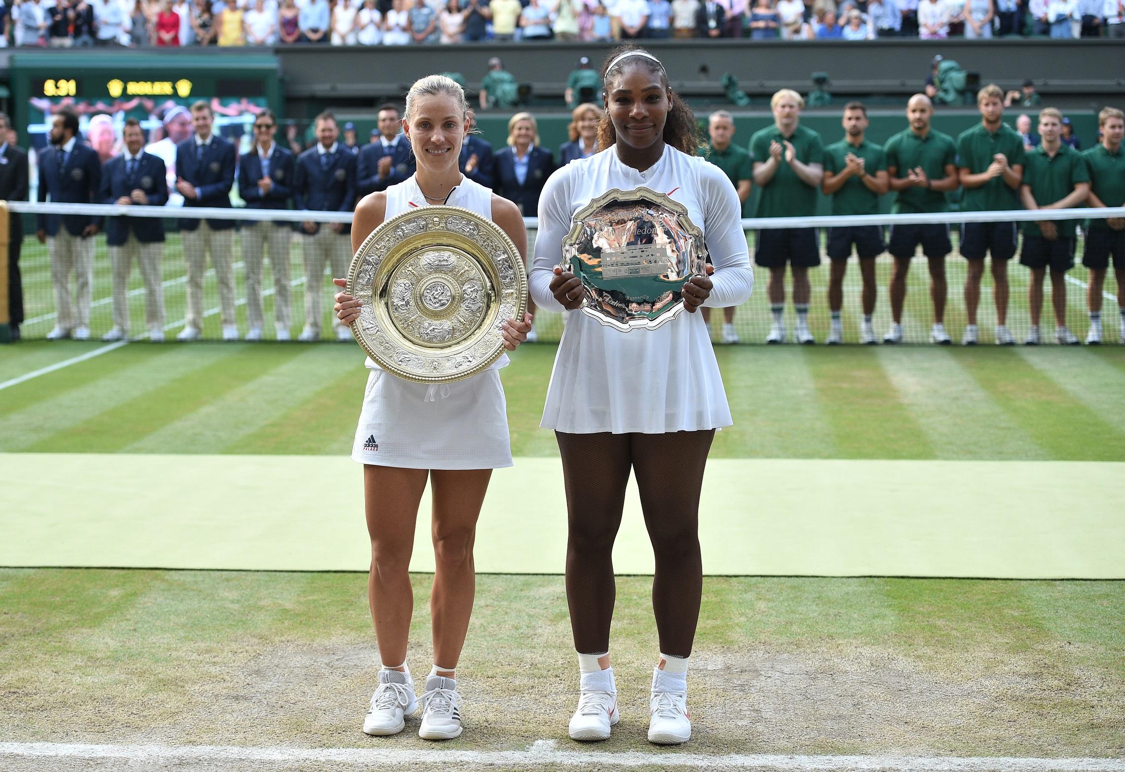 Angelique Kerber legyőzte Serena Williamst a wimbledoni döntőben