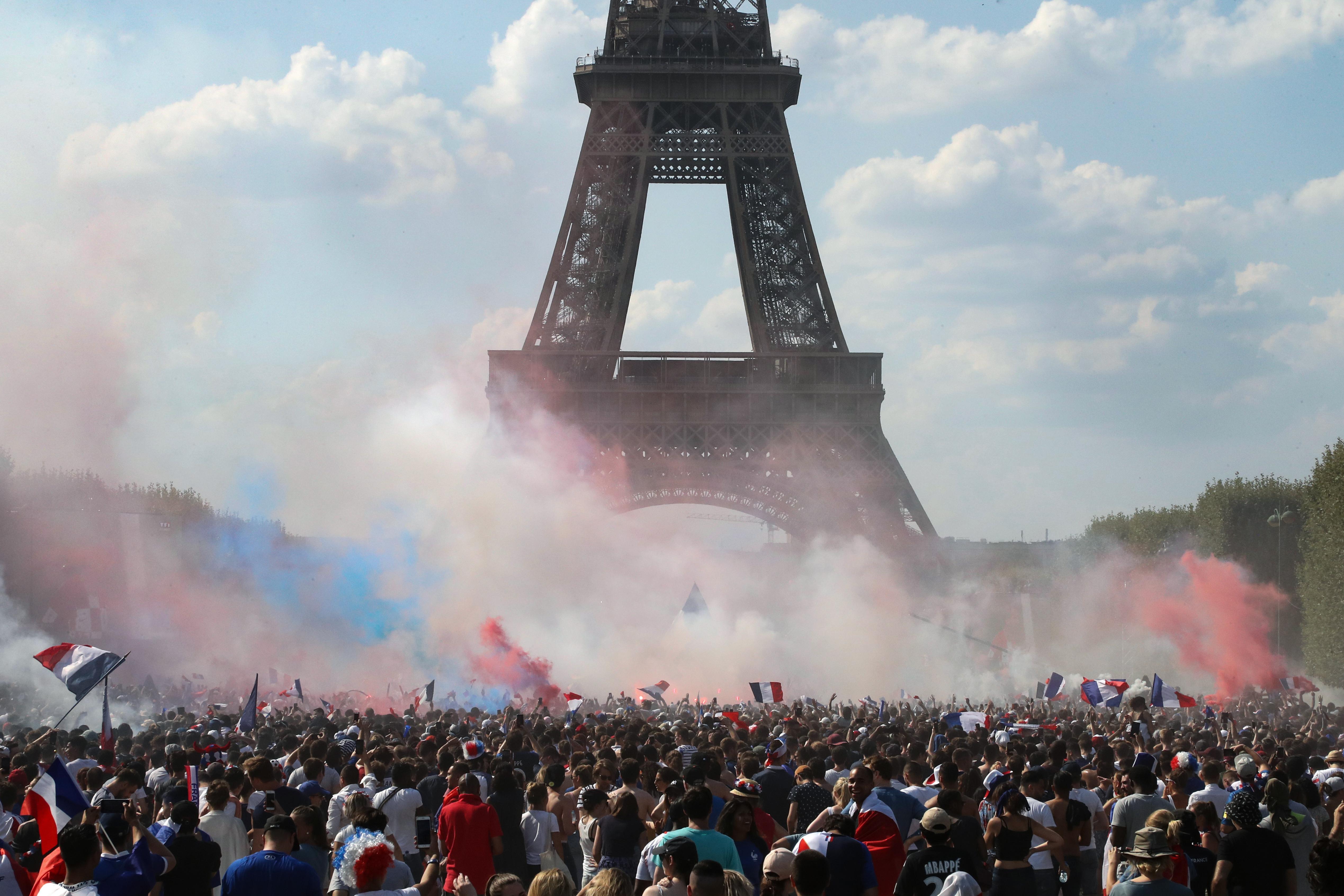 Párizs ünnepel