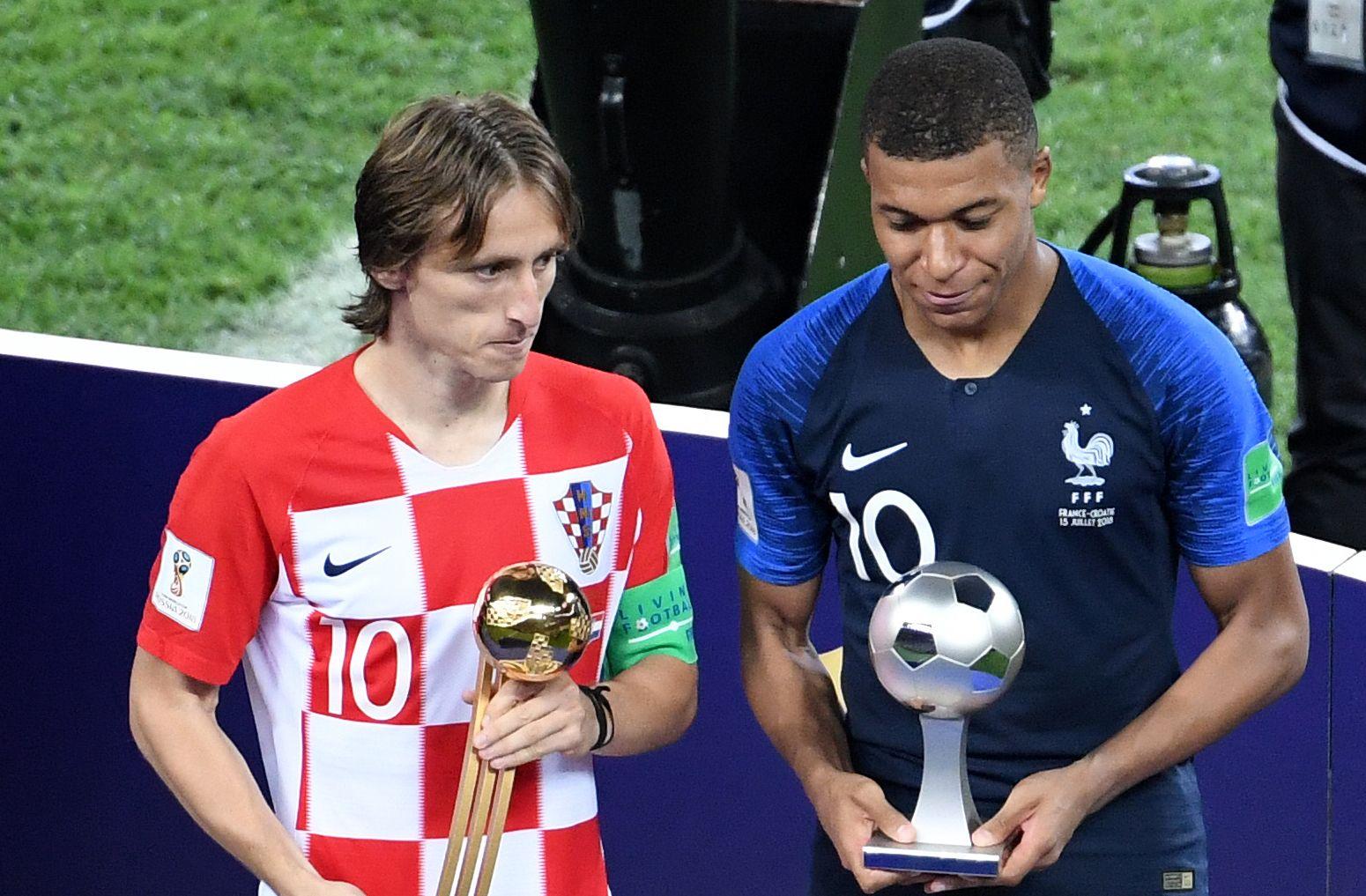 Vigaszdíj: Luka Modric lett a vébé legjobb játékosa