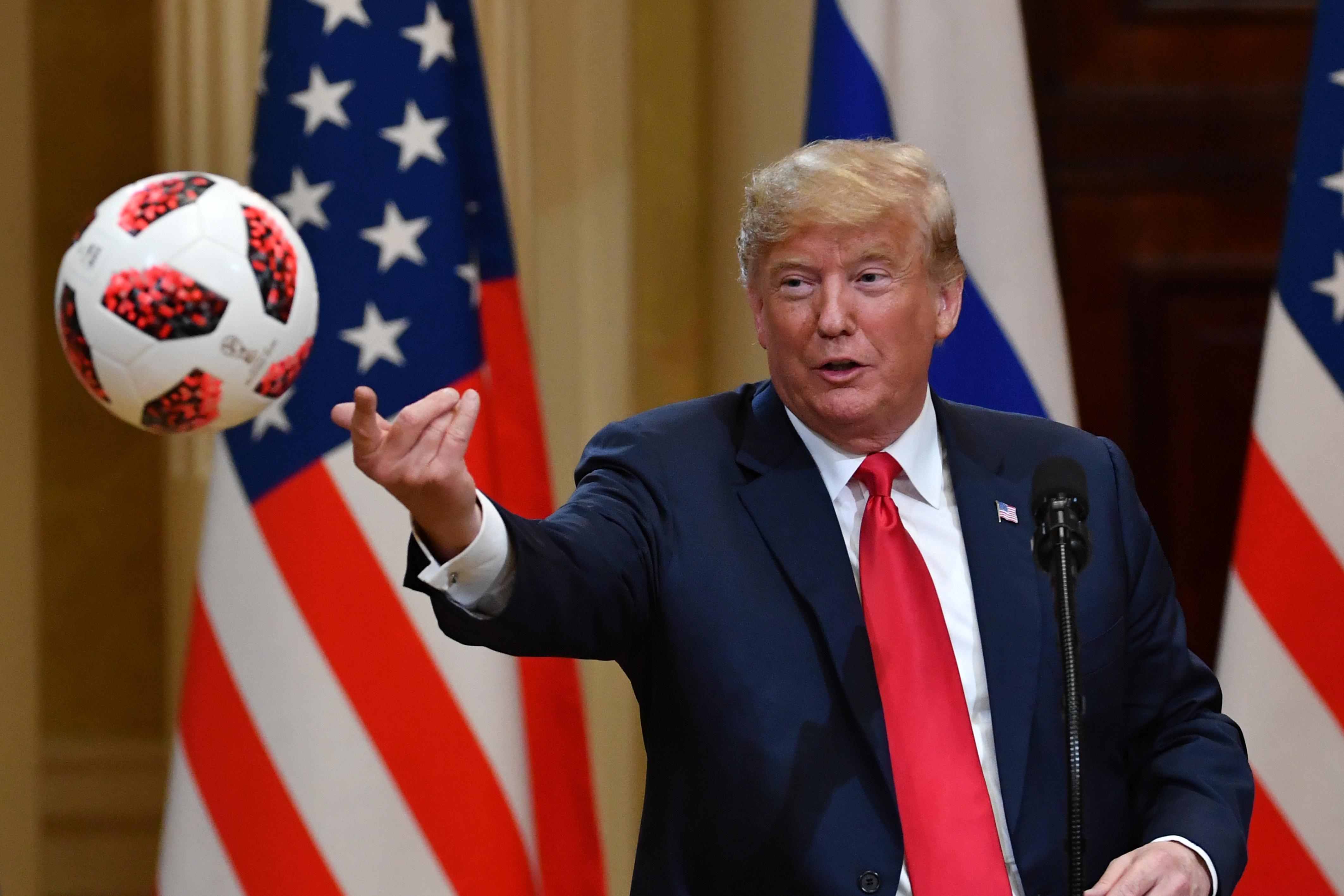 Donald Trump meghívta Putyint Washingtonba