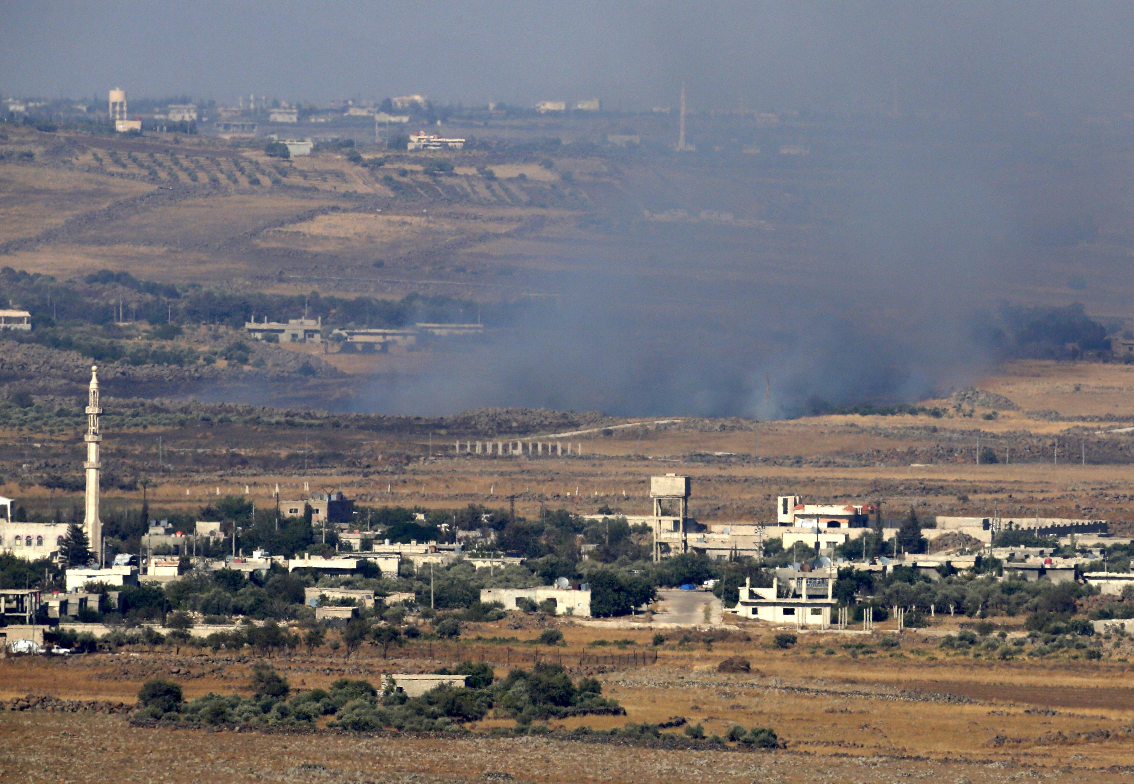 Iráni célpontokat bombáztak Kelet-Szíriában