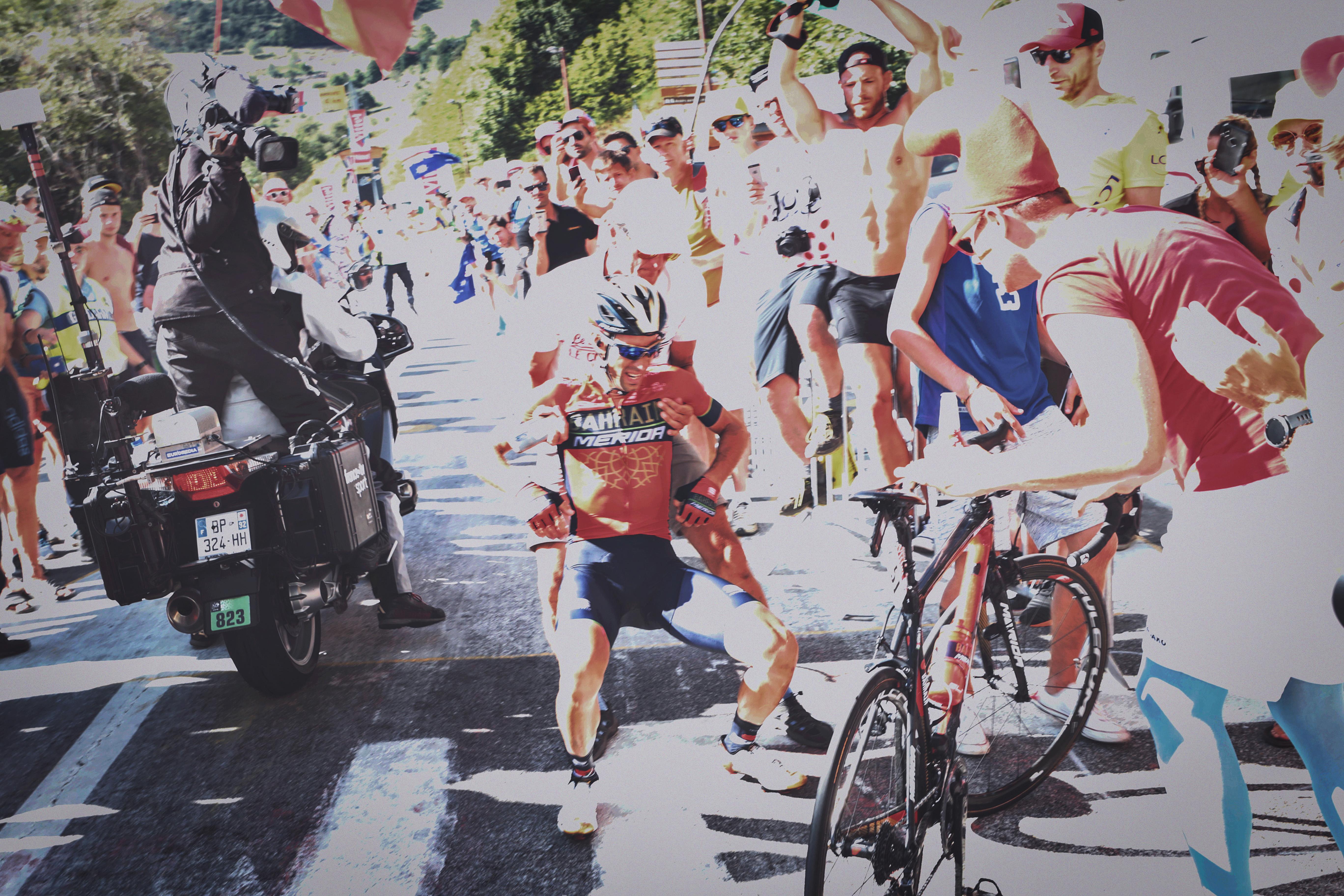 Törött csigolyával ért célba Nibali