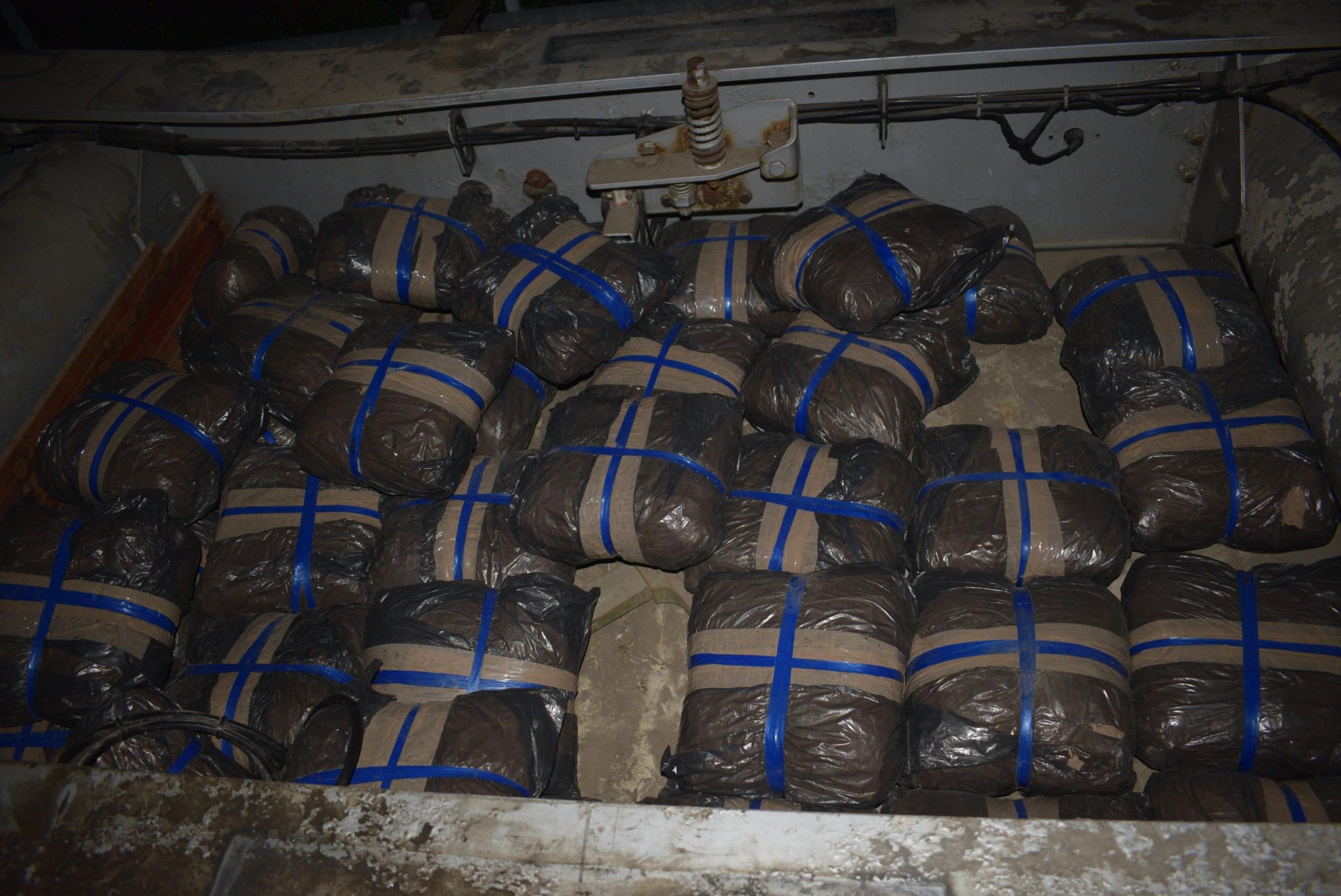 70 kiló marihuánát próbált meg behozni egy horvát férfi egy bosnyák kamionnal