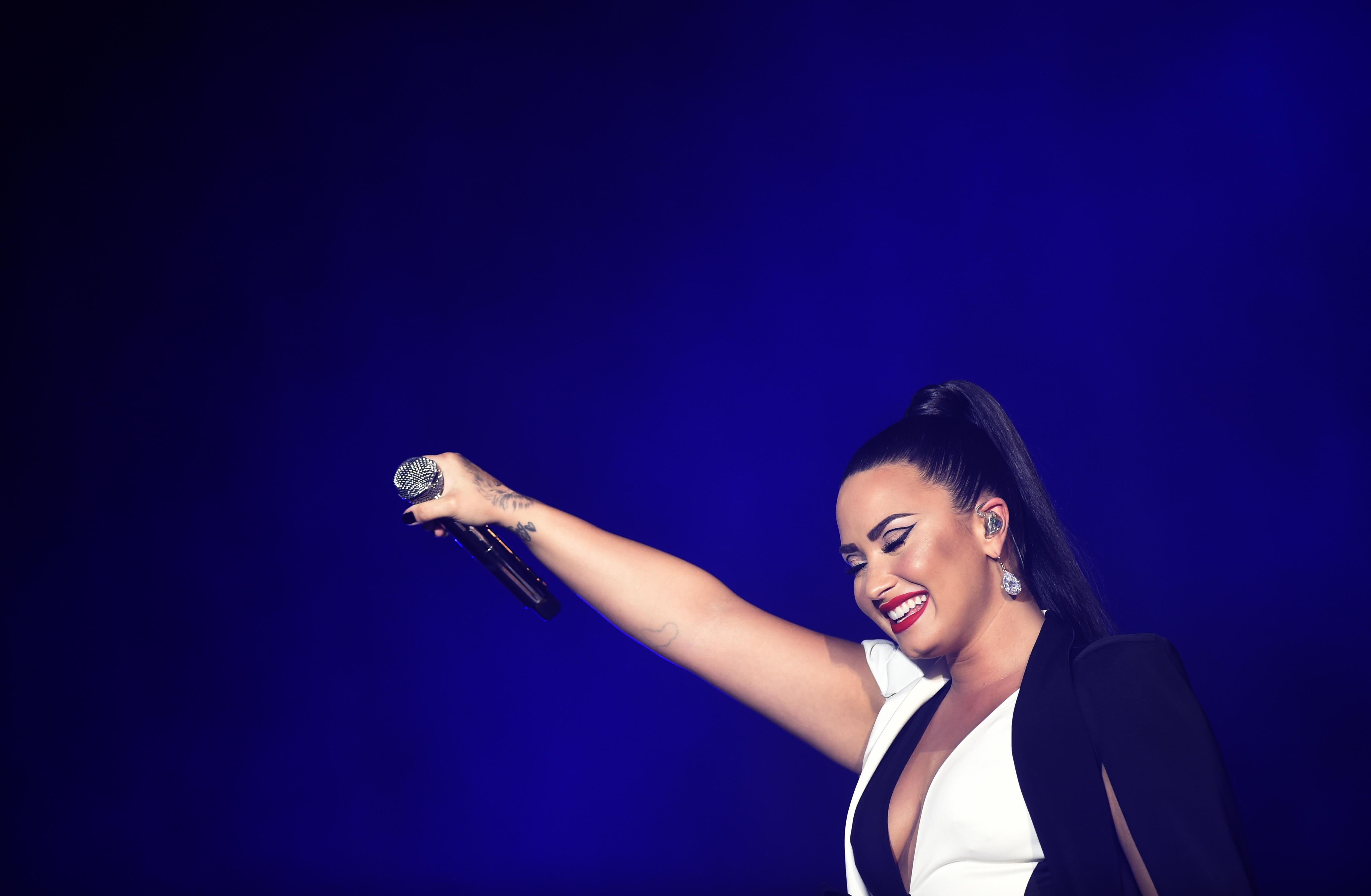 Tudatánál van Demi Lovato