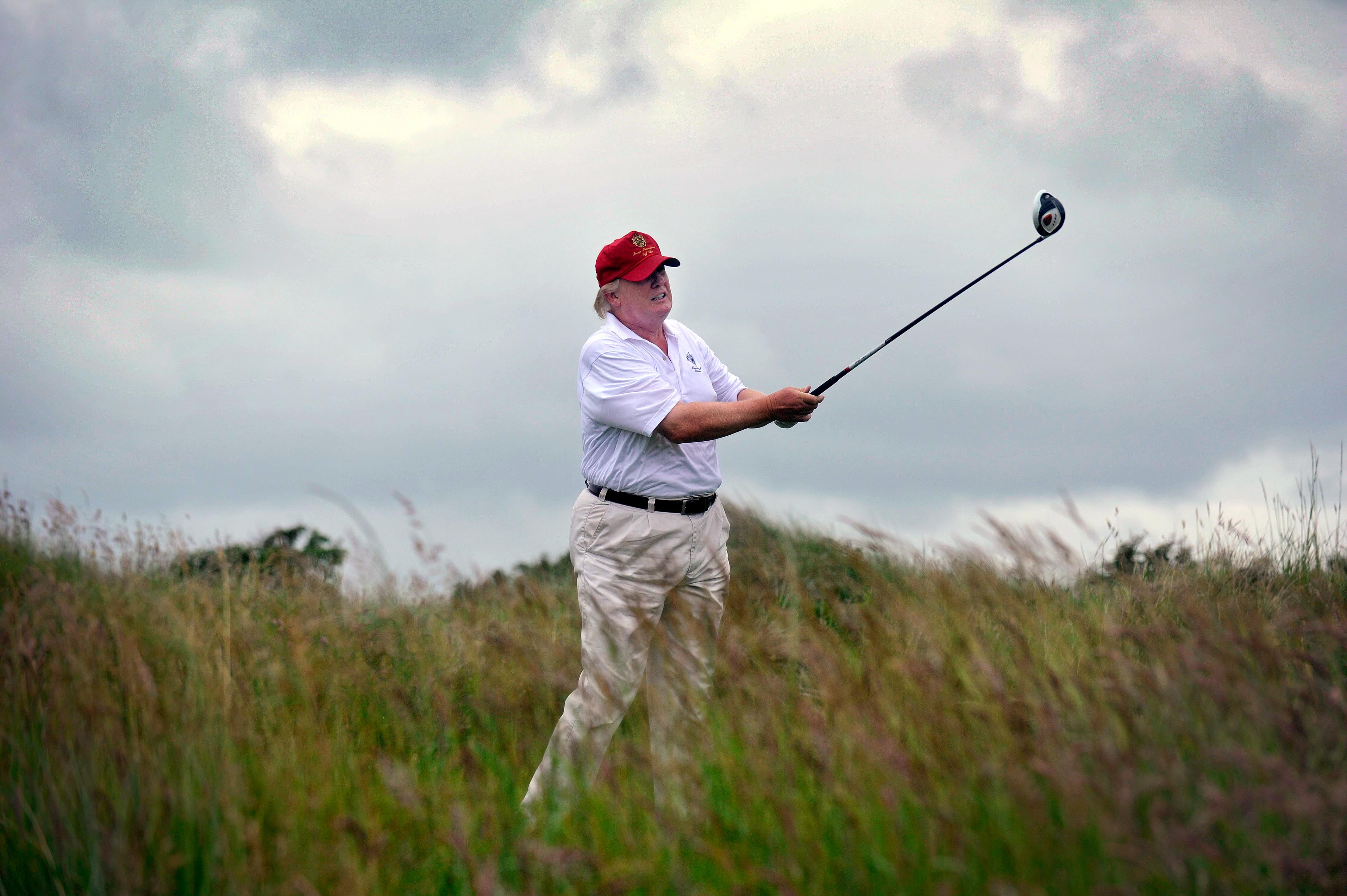 Súlyos pusztítást okozott a skót dűnéken Trump golfpályája
