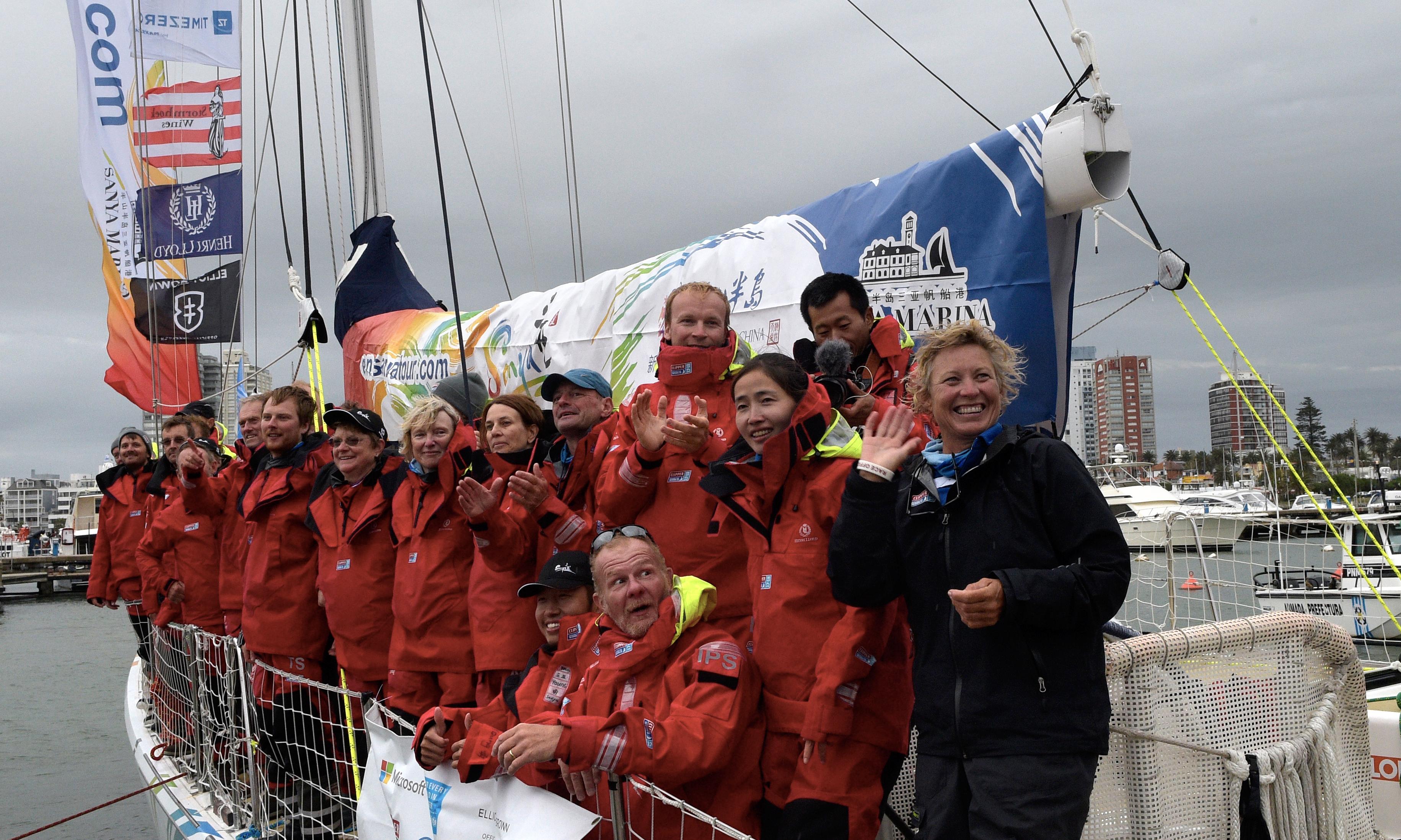 Először volt női skipper a Föld körüli vitorlásversenyt megnyerő hajón