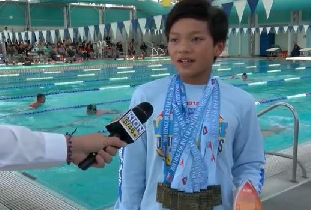 Egy 10 éves, Clark Kent nevű fiú 23 év után megdöntötte Michael Phelps egyik rekordját