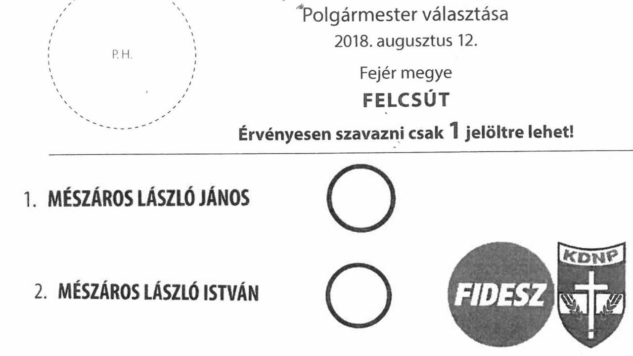 Hivatalos: Mészáros küzd Mészárossal Felcsúton