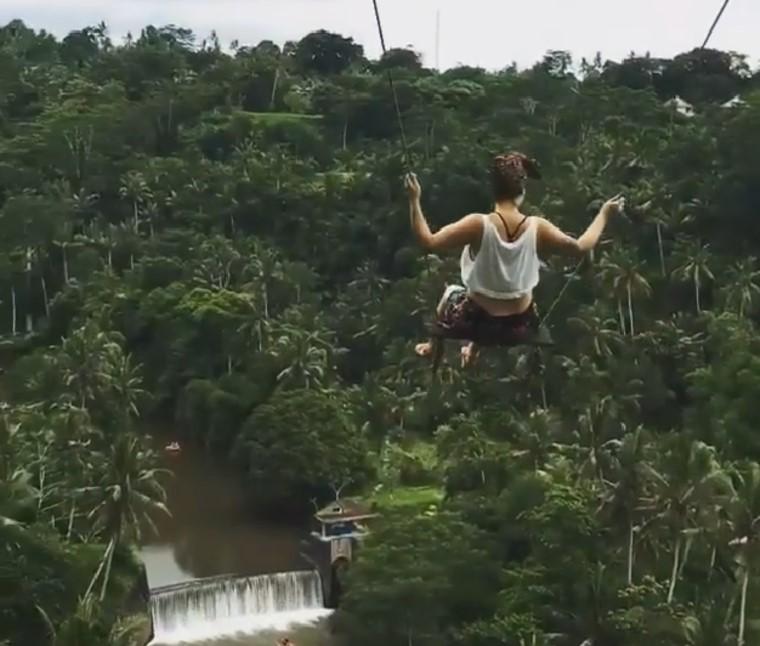 Meghalt egy turista Bali egyik leghíresebb insta-helyszínén