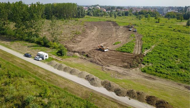Megkezdődött a stadionépítés Mészáros Lőrinc horvát klubjánál