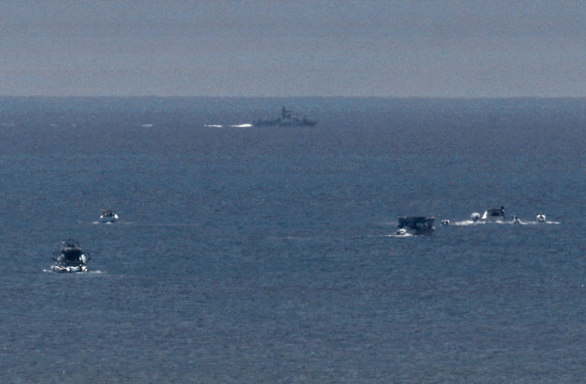 Izrael elfogott egy svéd blokádtörő hajót a Gázai övezet partjainál