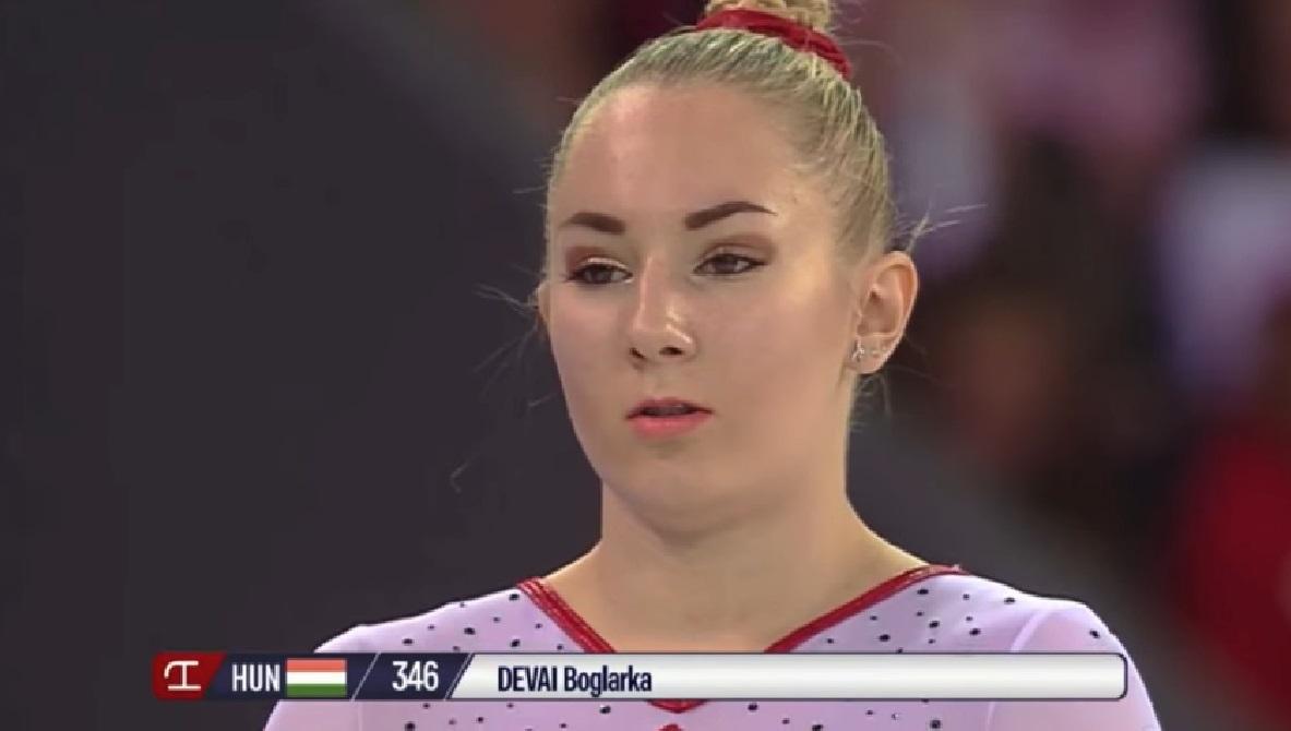 Dévai Boglárka aranyérmet nyert ugrásban a tornász Európa-bajnokságon