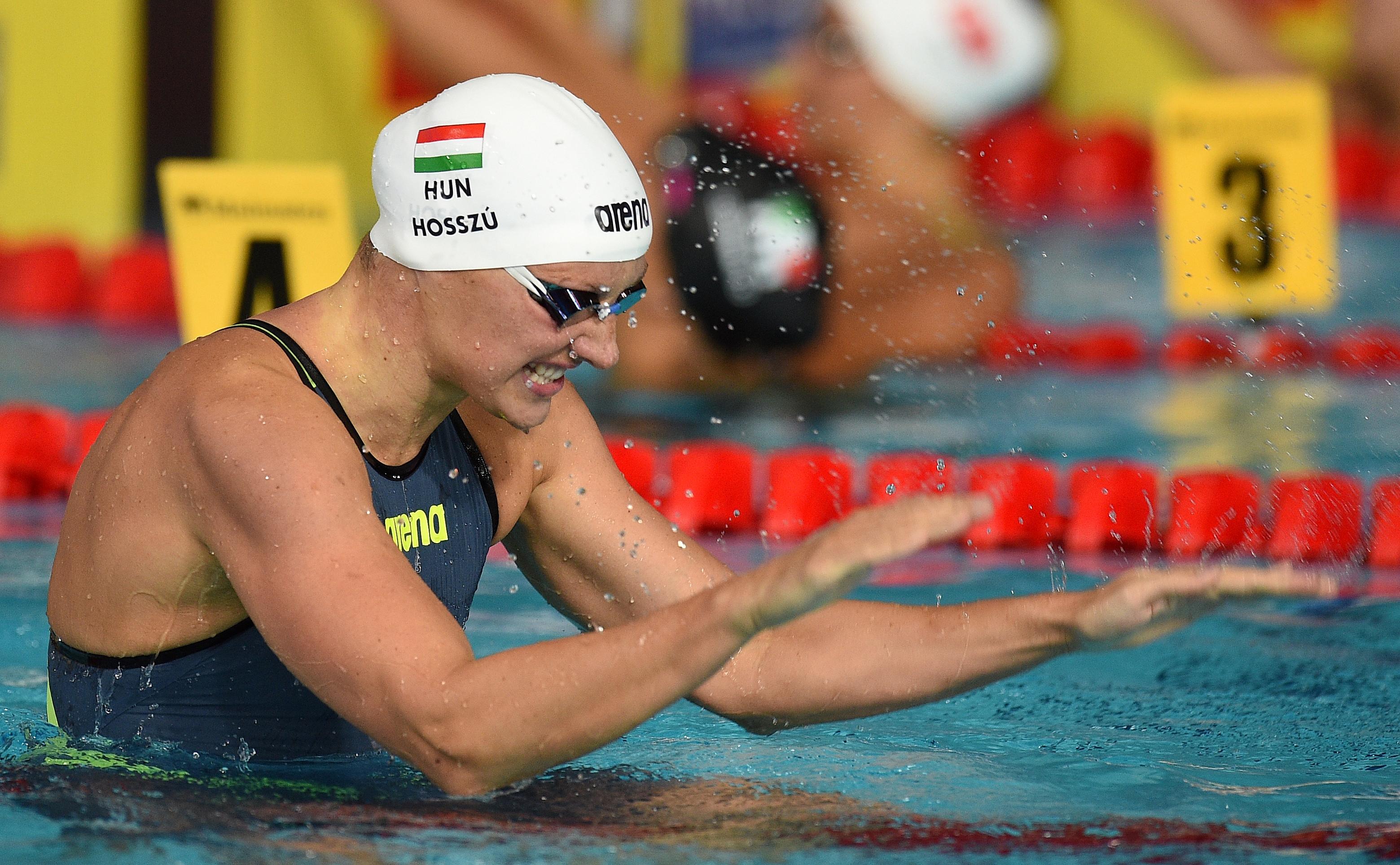 Hosszú Katinka nyert 3 aranyat Lausanne-ban