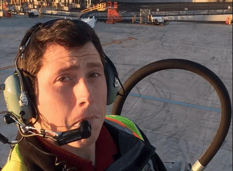 Csendes, sokak által kedvelt ember volt a reptéri munkás, aki ellopott egy repülőt, amit a földbe vezetett
