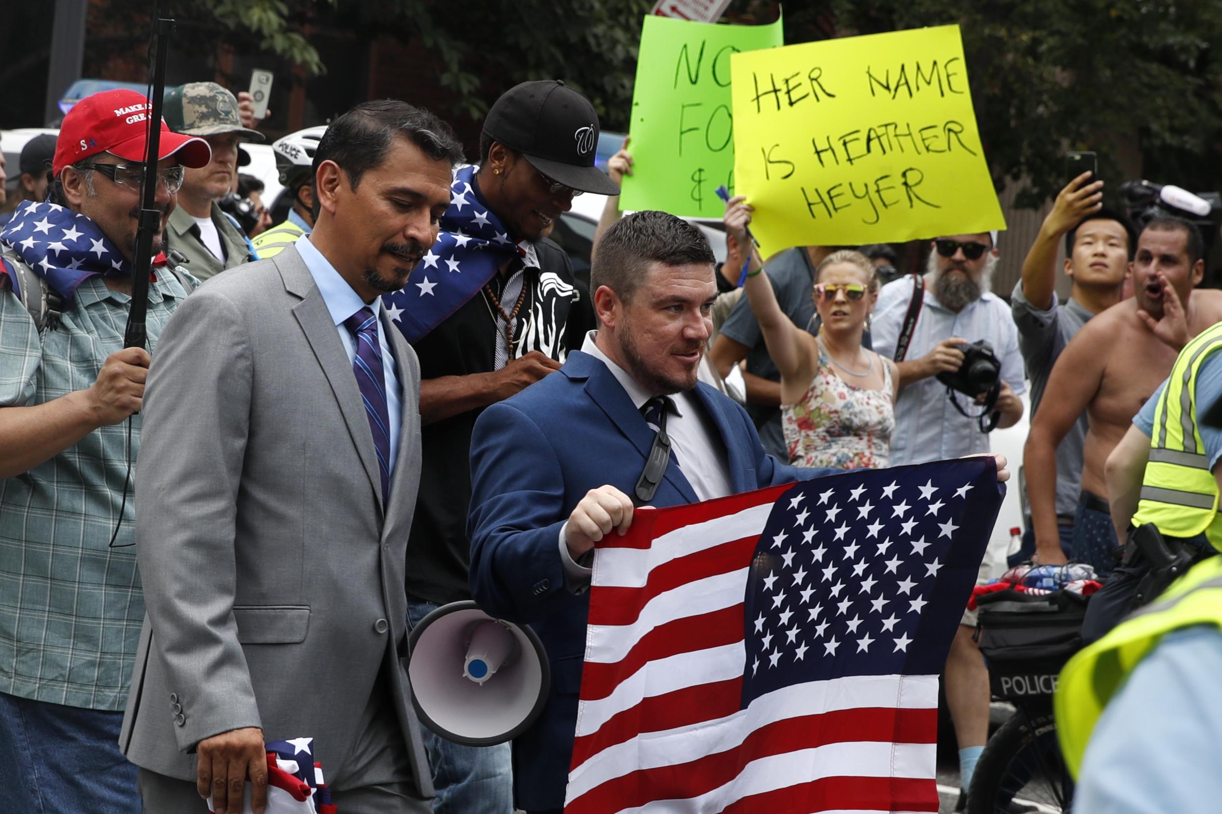 Szinte senki sem ment el az alt rightosok washingtoni tüntetésére