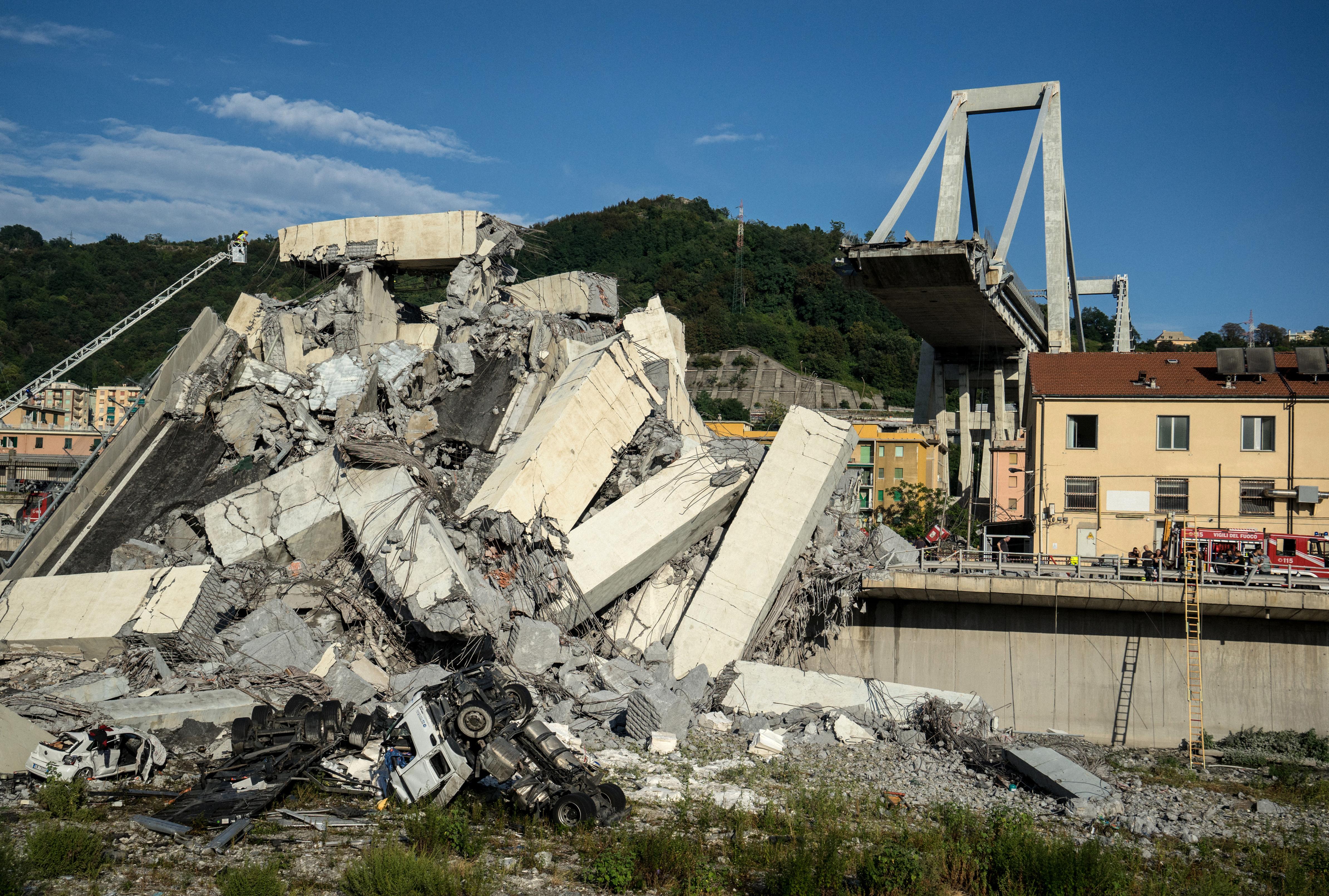 Az elmúlt öt évben négy halálos hídomlás is volt Olaszországban