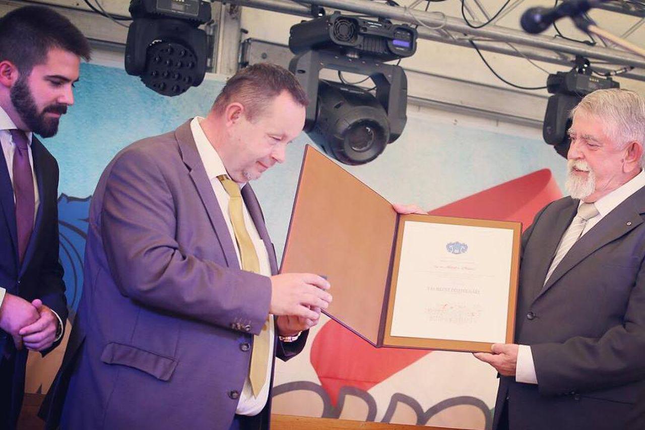 Kásler Miklós tekintetes miniszter úr lett Vas megye történetének első díszpolgára