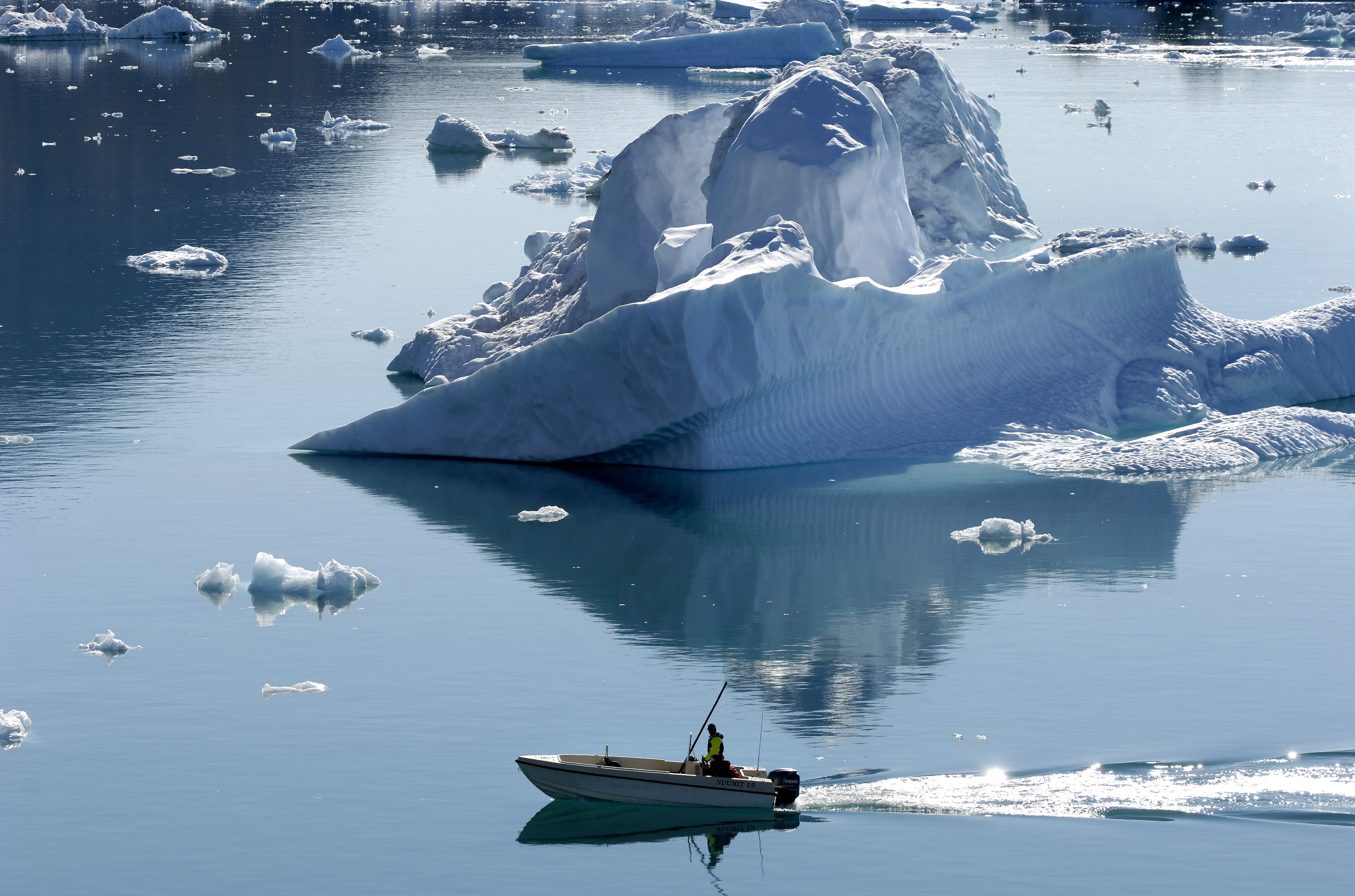 Az Északi-sarkvidék legvastagabb tengeri jégtakarója is megtört