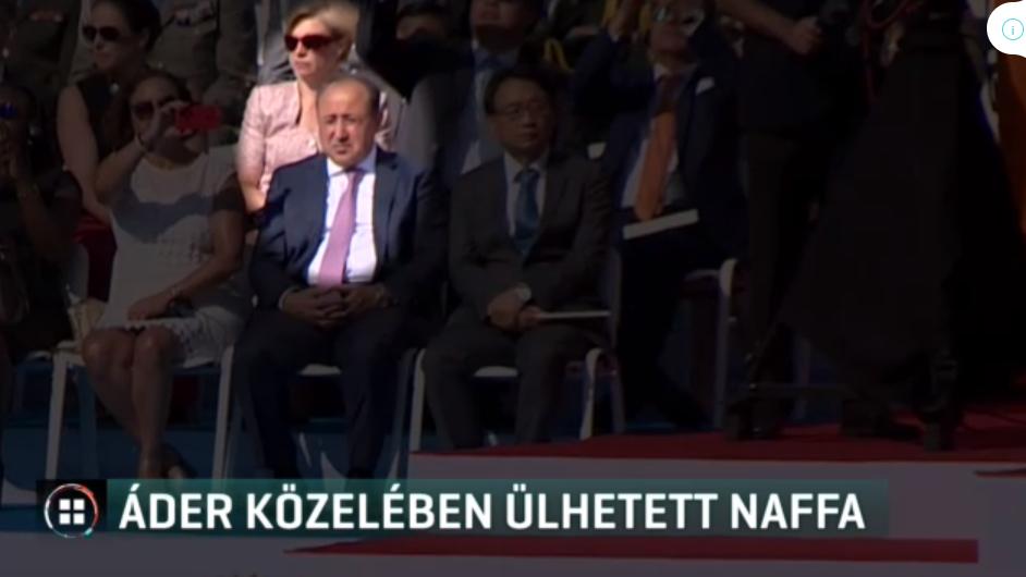 Első sorból izgulhatta végig Áder János beszédét Zaid Naffa nemzetbiztonsági kockázat