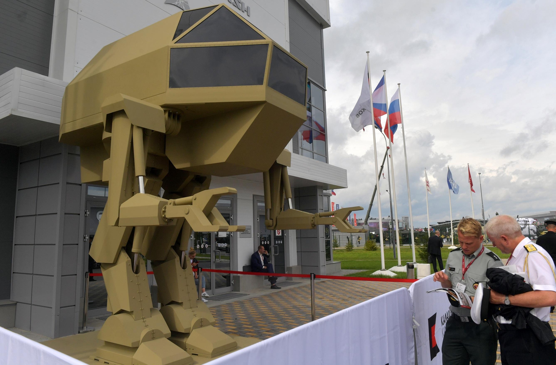 """Bemutatták """"Kicsi Igort"""", a Kalasnyikov harci robotját"""