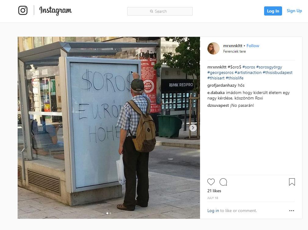 Lencsevégre kapták a nemzet egyik graffitisét