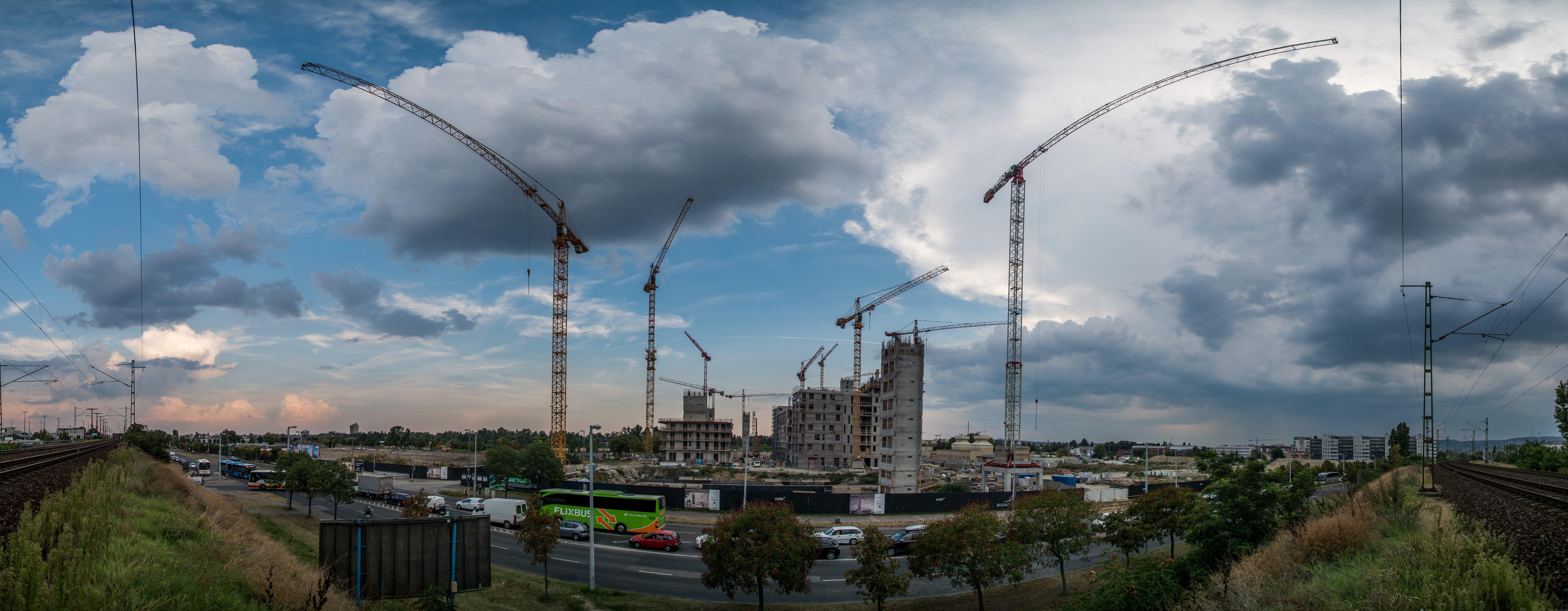 Durván visszaesett az építőipari termelés februárban