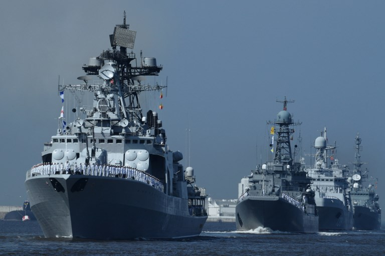 Az eddigi legnagyobb flottát küldte az orosz hadsereg Szíriához