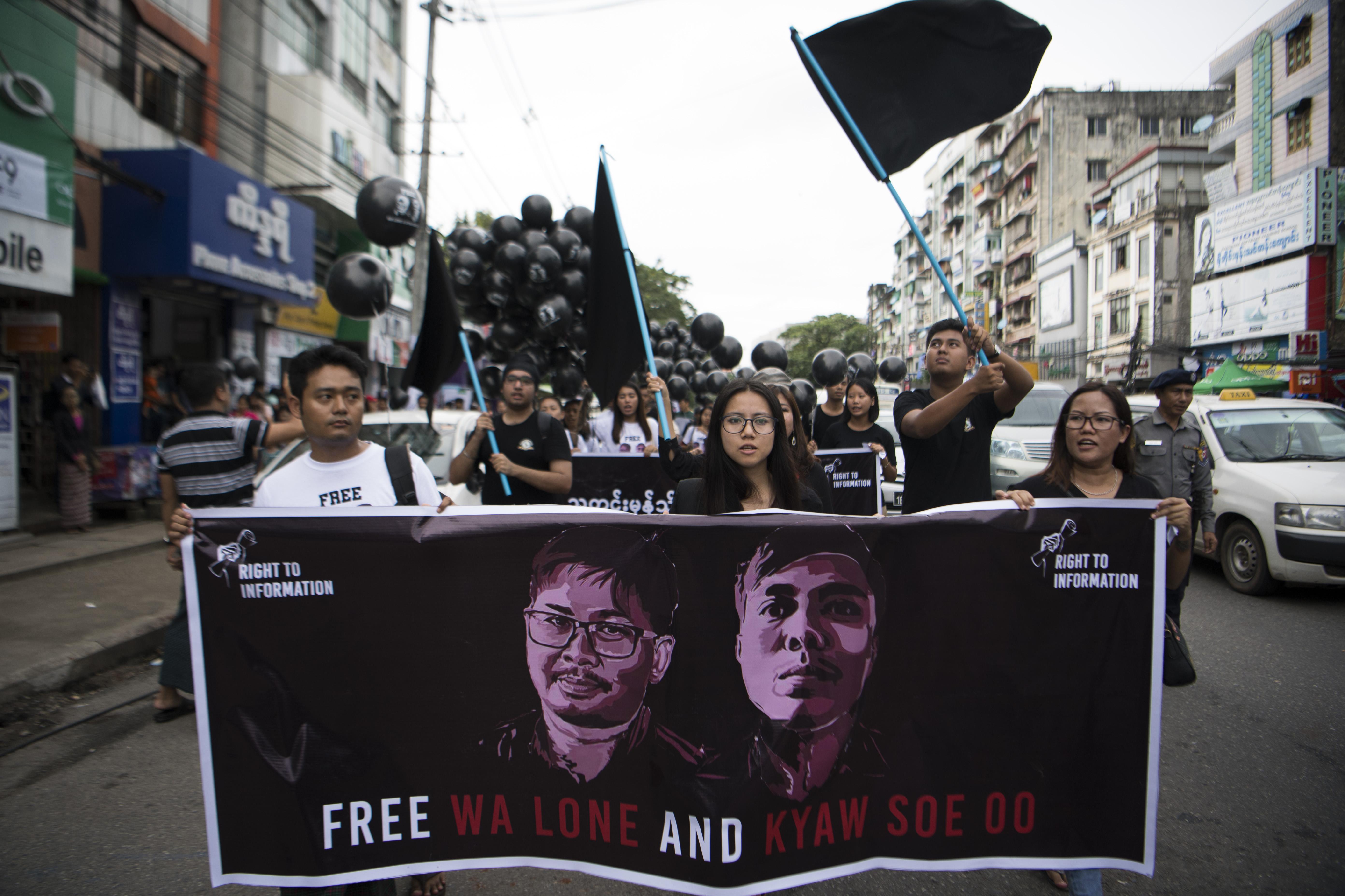 Elutasították a Reuters Mianmarban bebörtönzött újságíróinak fellebbezését