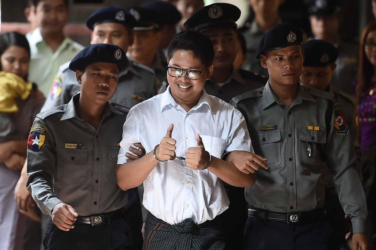 Gyerekkönyvet írt a börtönben a mianmari újságíró, aki 7 évet kapott